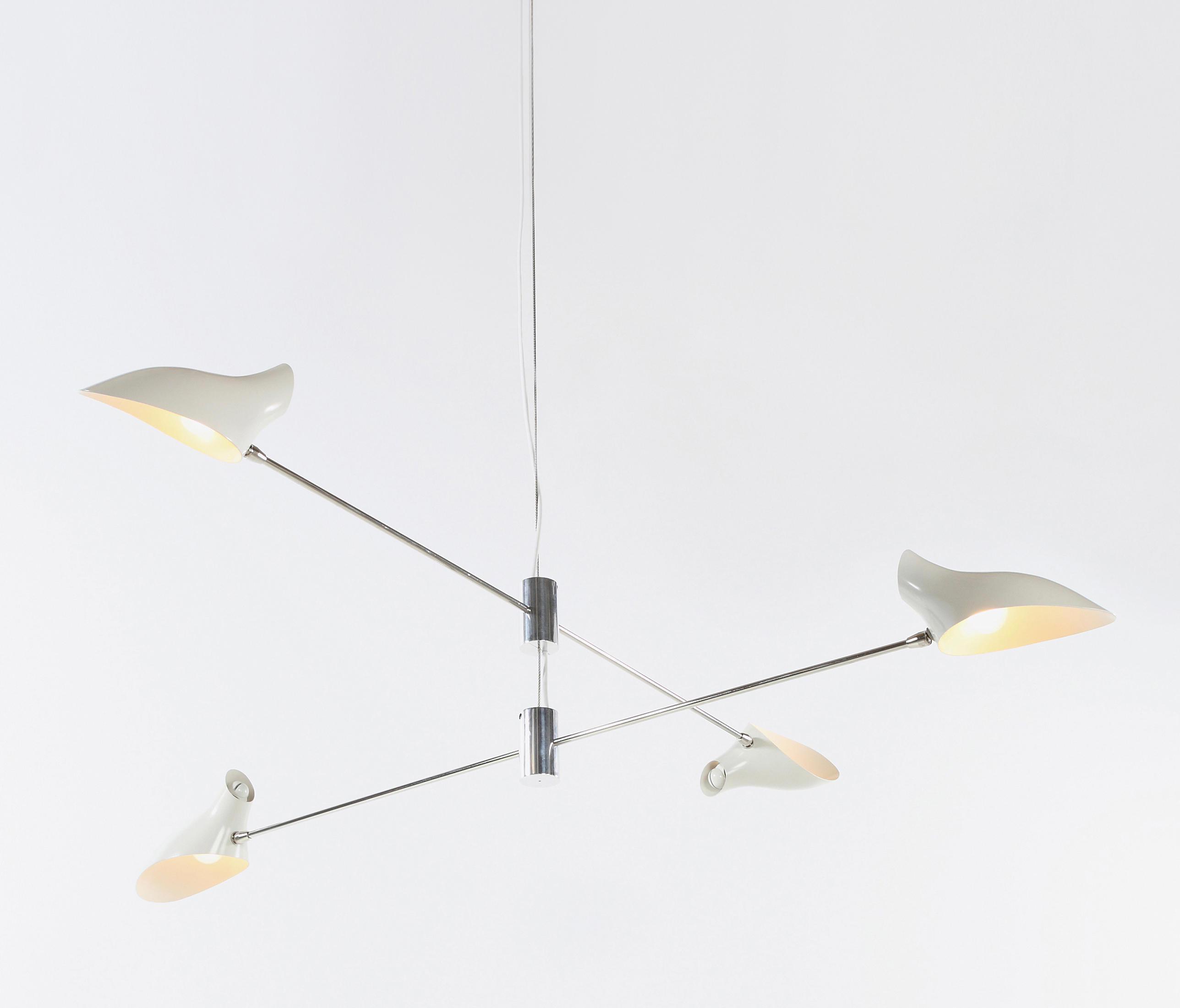 Cross Cable No 407 By David Weeks Studio Suspended Lights