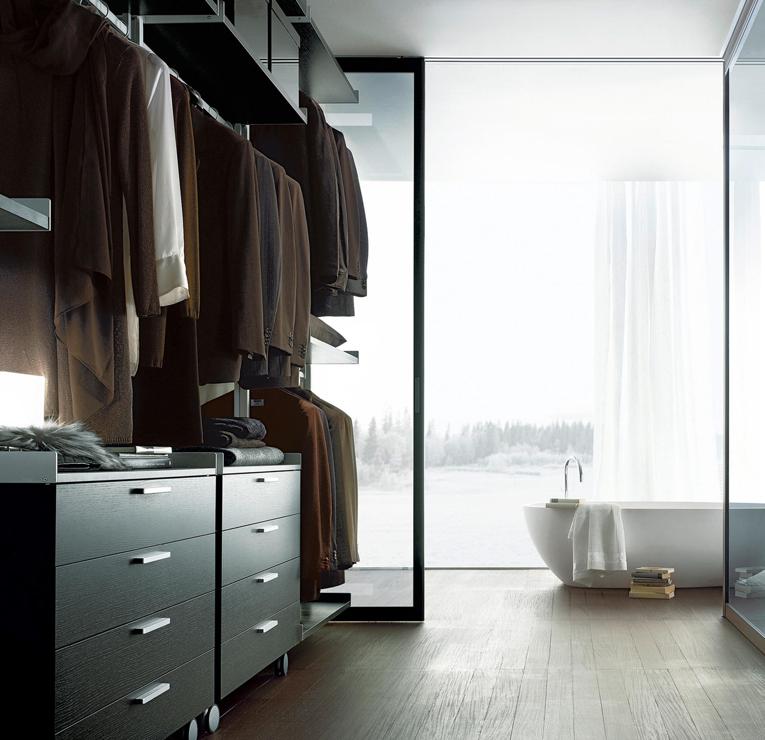 Zenit Walk In Wardrobes From Rimadesio Architonic