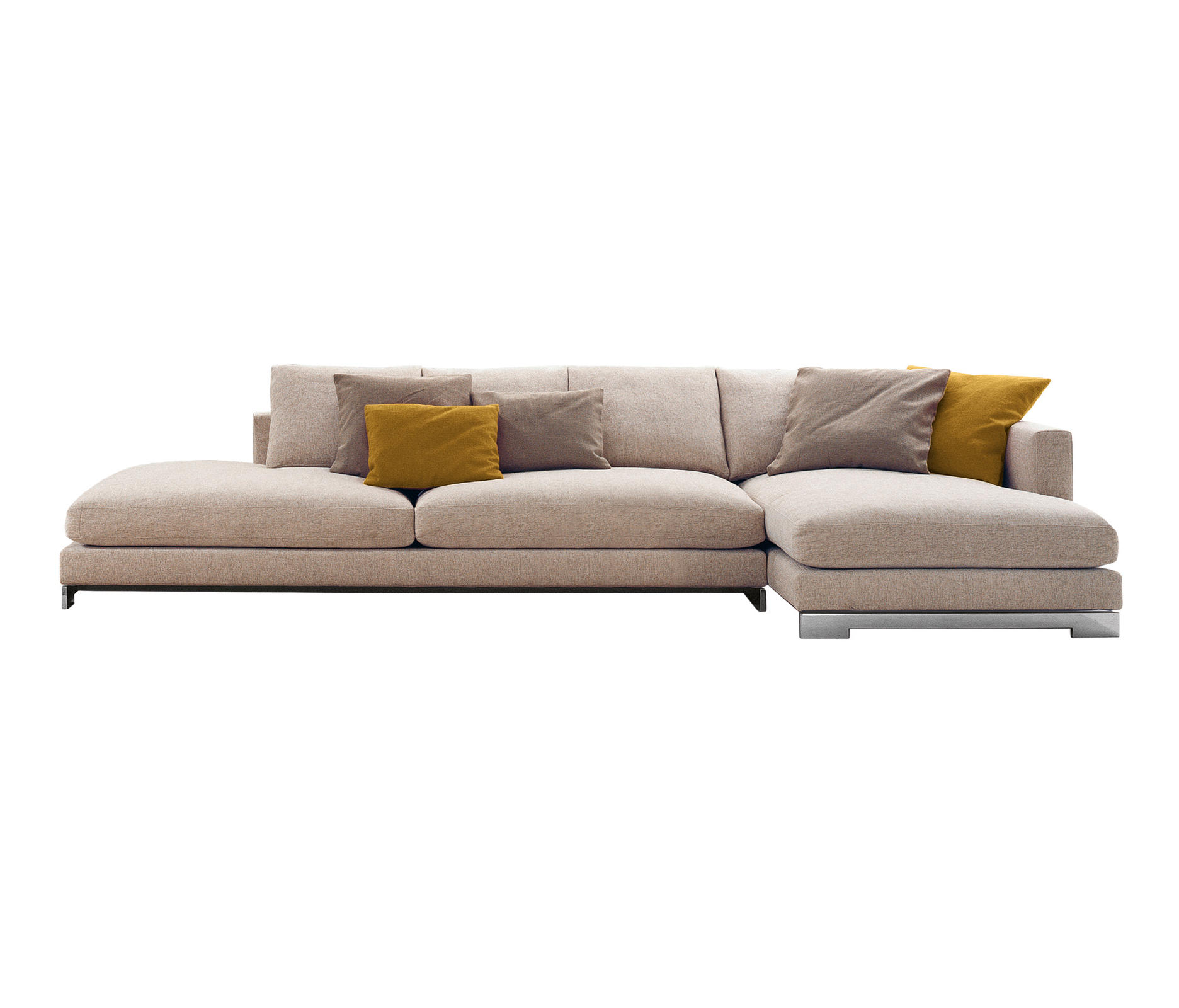 Reversi modular sofa systems from molteni c architonic for Sofa tiefe sitzfl che