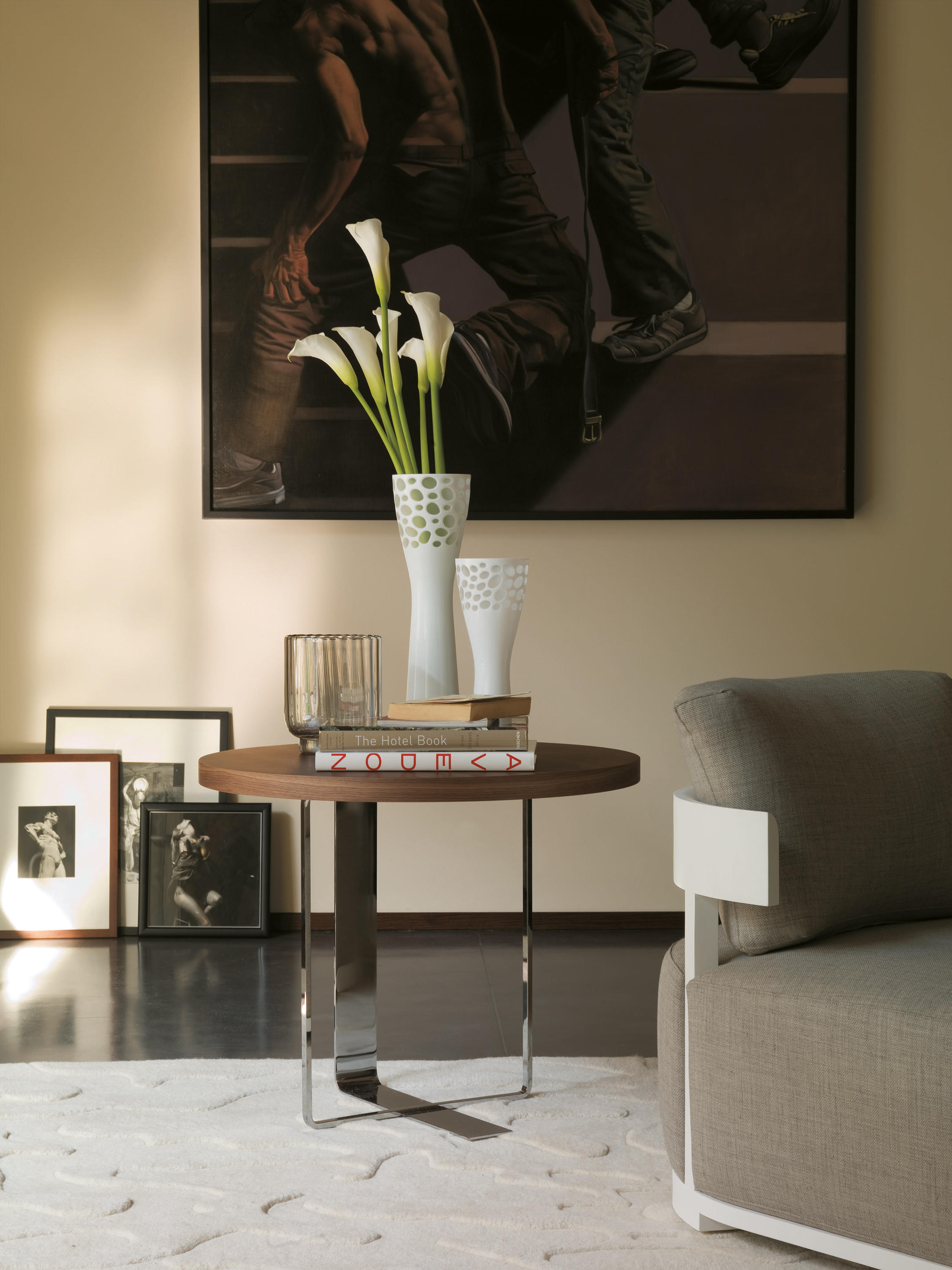 PLACE 1 Side tables from Porada