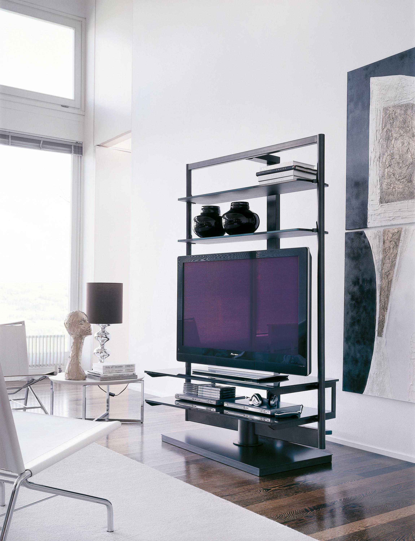 Ubiqua 27 soportes multimedia de porada architonic - Porada porta tv ...