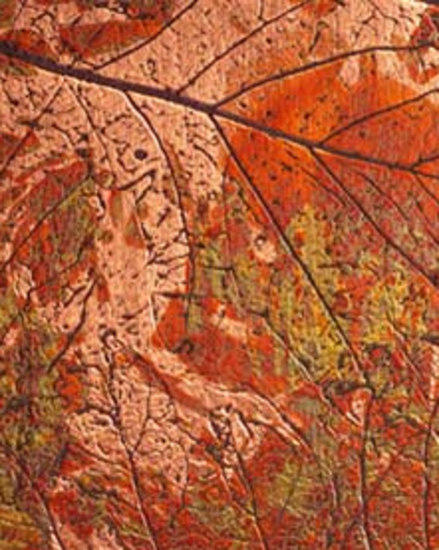 622g Copper Autumn Leaves Composite Panels From Homapal