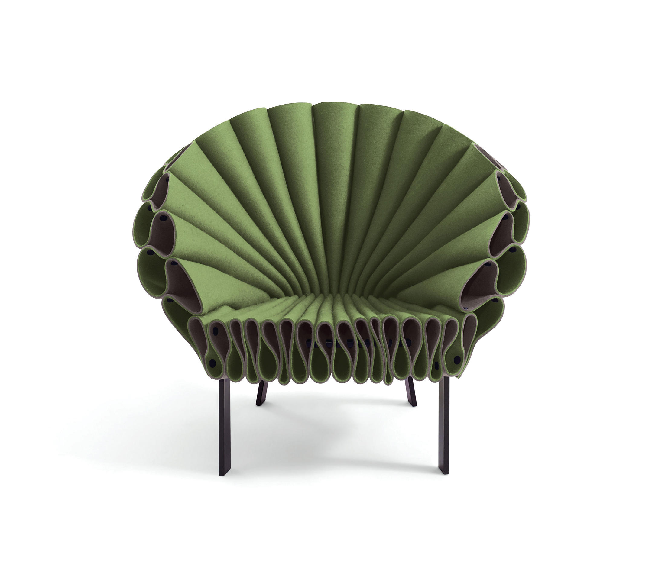 PEACOCK Lounge chairs from Cappellini