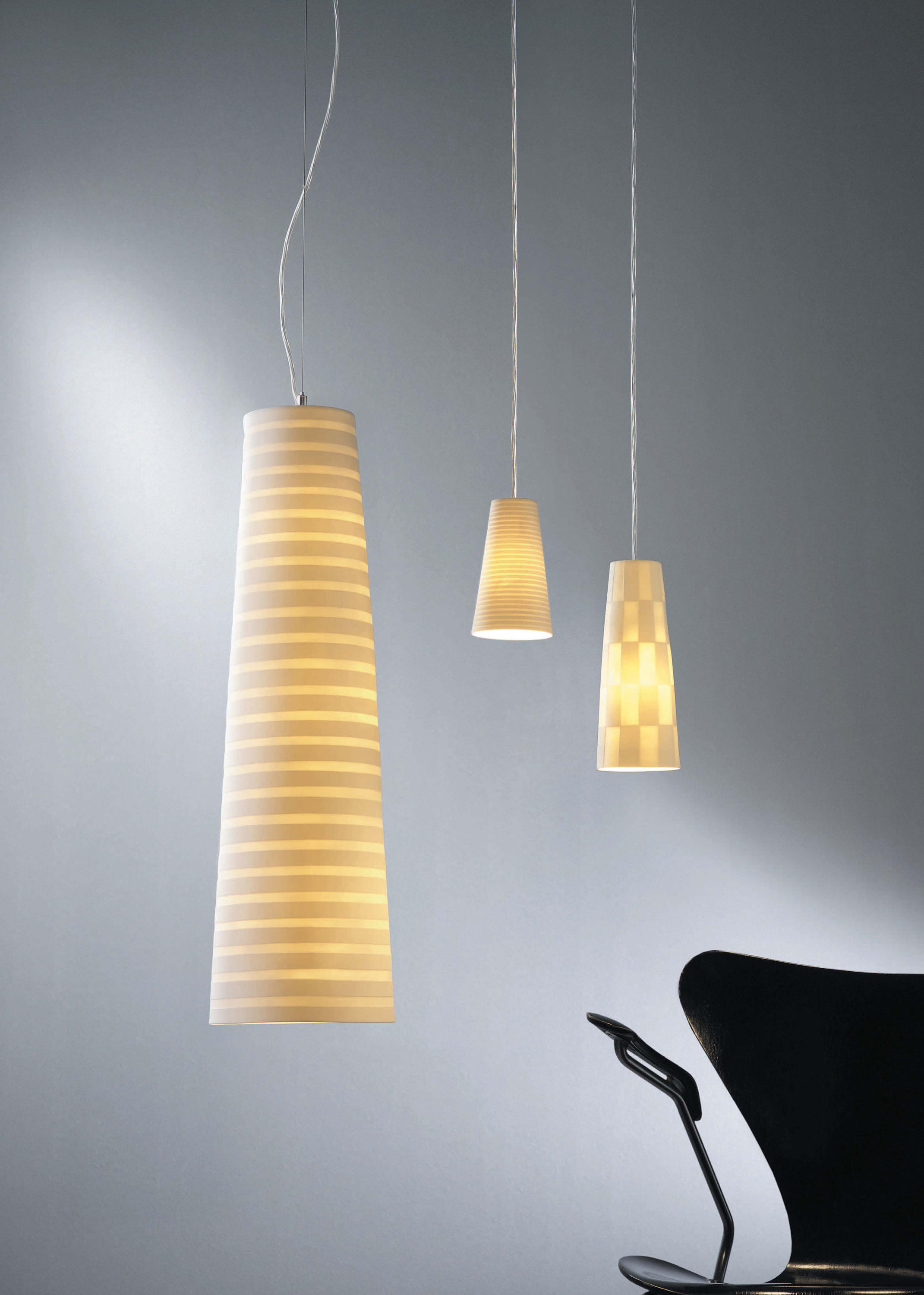 porcelain lighting. vinci pendant lights by steng licht general lighting porcelain