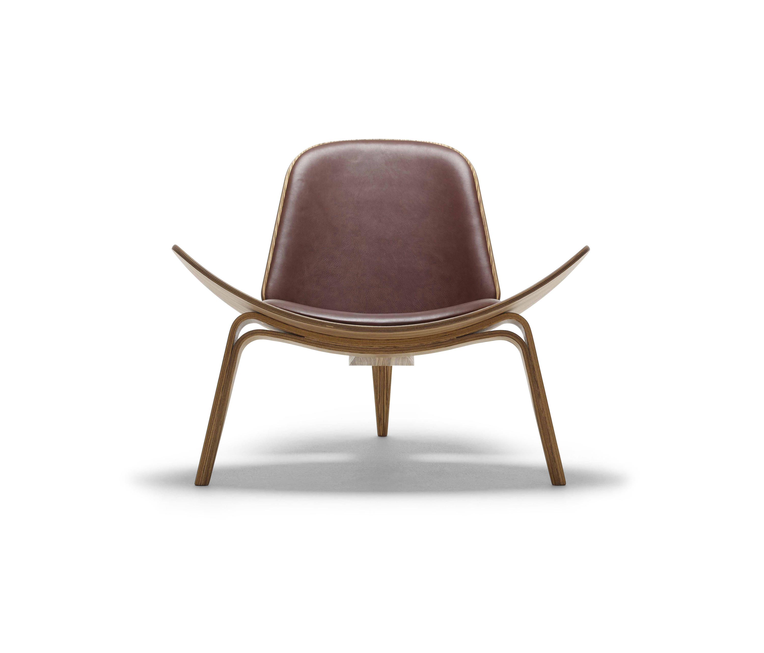 ch07 shell chair armchairs from carl hansen søn architonic