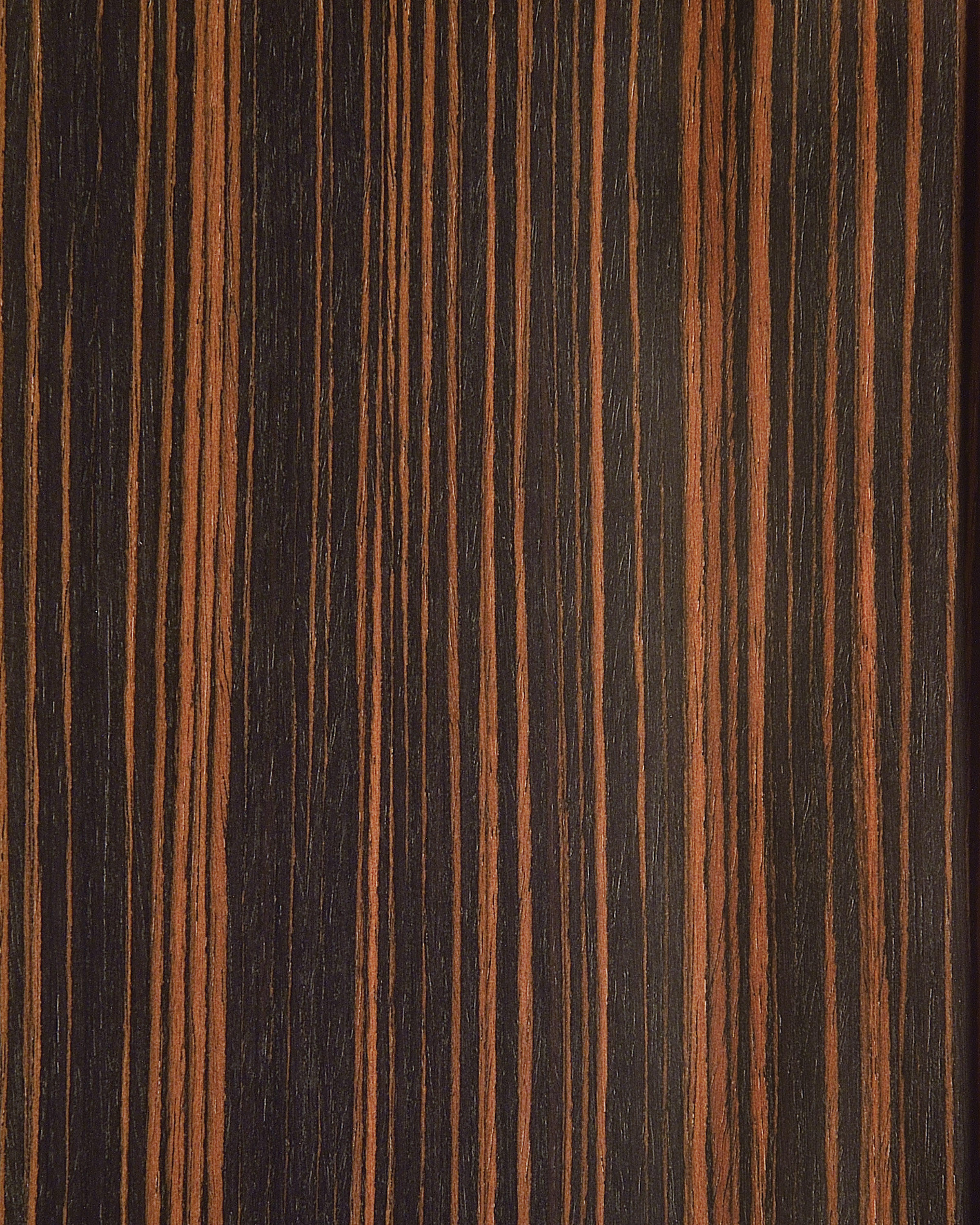 61104 Ebony Straight Grain Wood Veneers From Treefrog
