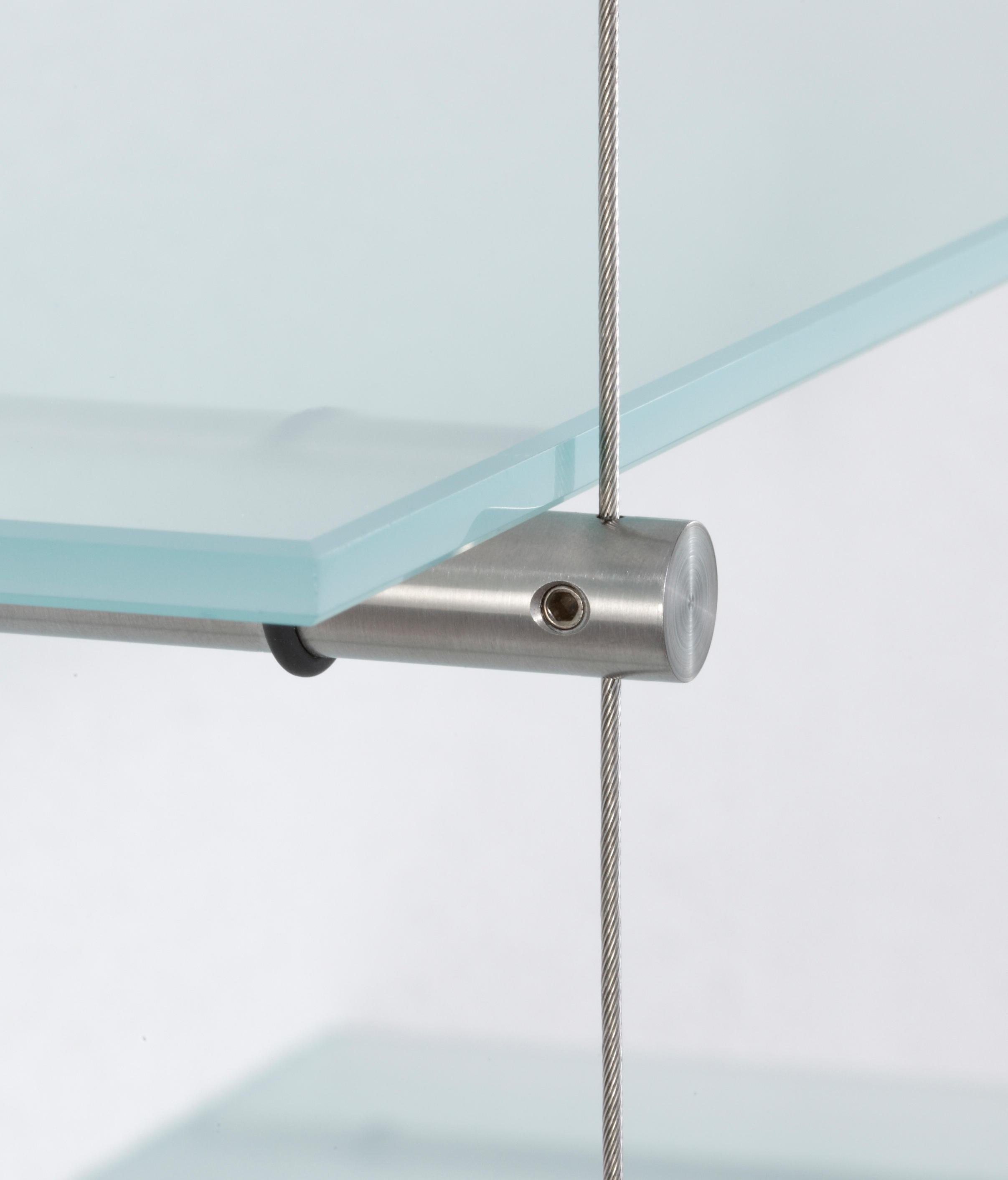 glasregal rst 260 m bel seilsysteme von phos design architonic. Black Bedroom Furniture Sets. Home Design Ideas