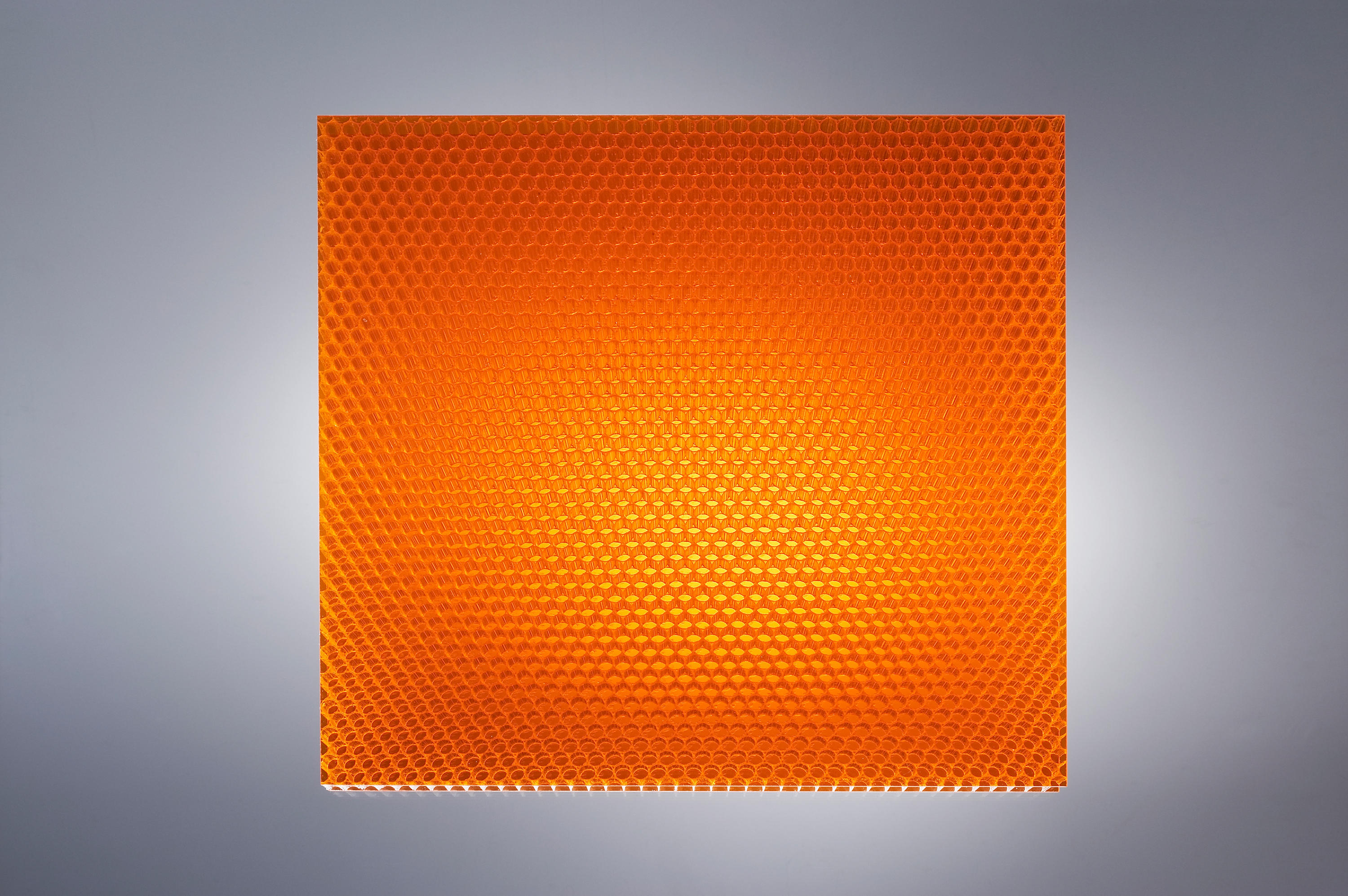 Air board uv pc color orange synthetic panels from