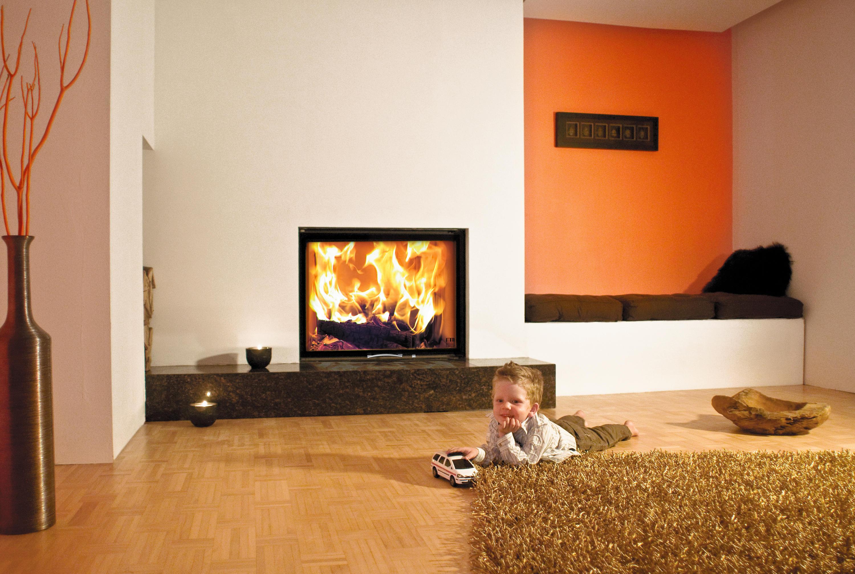 97x74s holz kamineins tze von austroflamm architonic. Black Bedroom Furniture Sets. Home Design Ideas