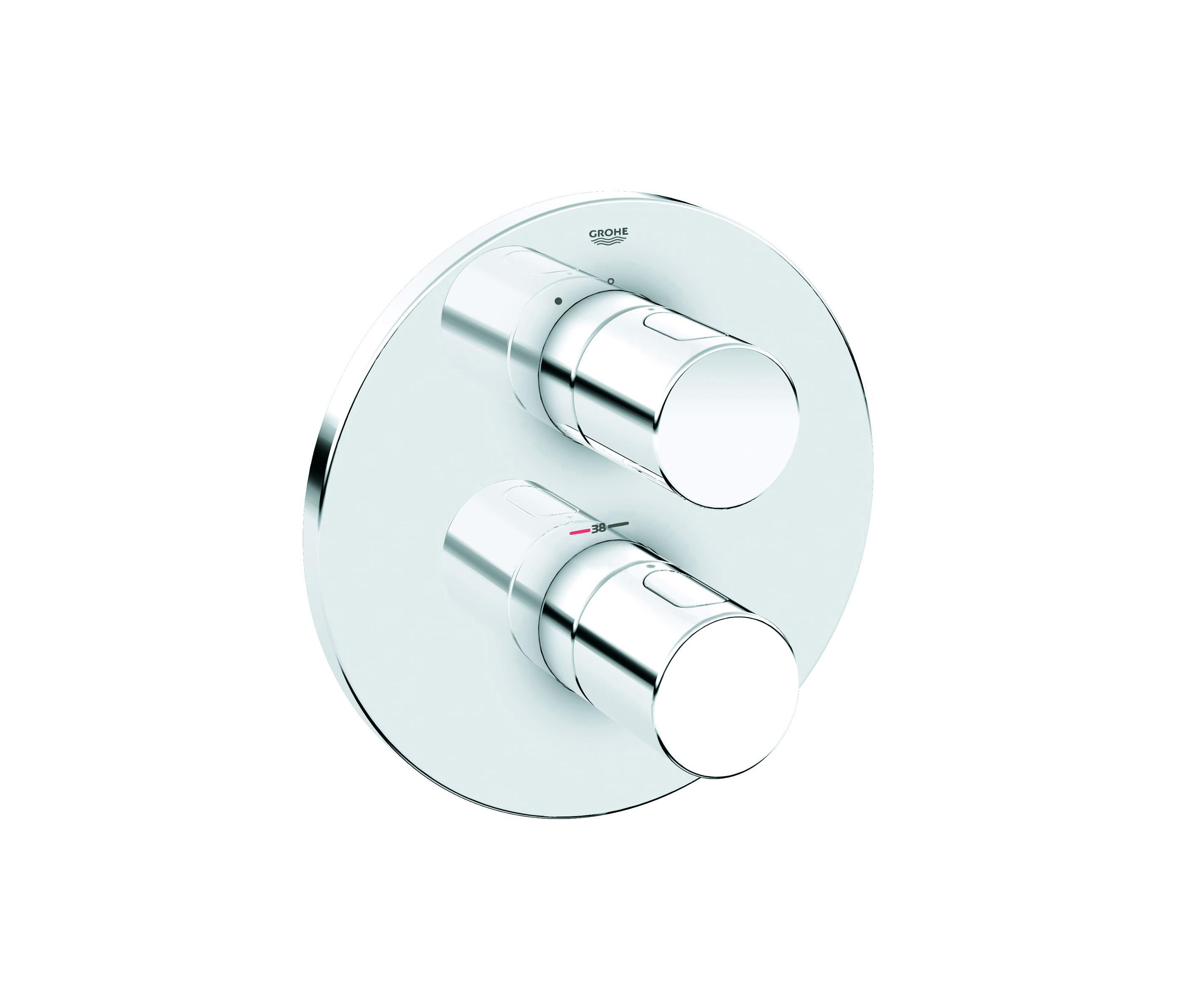 GROHTHERM 3000 COSMOPOLITAN THERMOSTATIC SHOWER MIXER - Shower ...