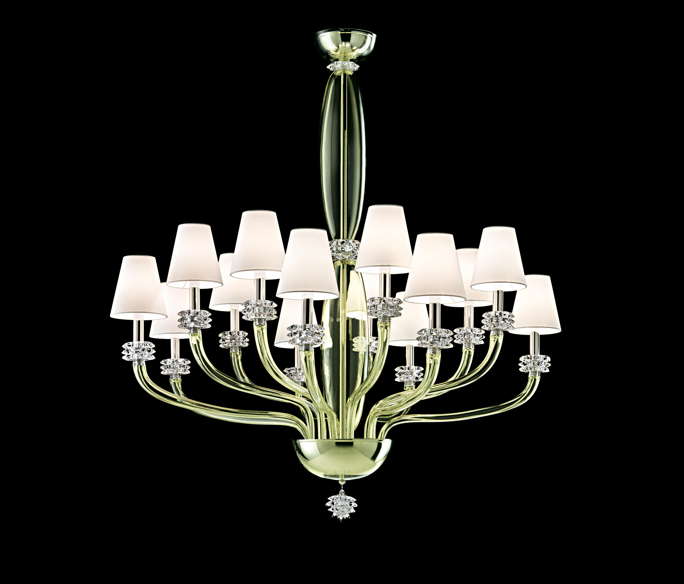 rotterdam ceiling suspended chandeliers from barovier. Black Bedroom Furniture Sets. Home Design Ideas