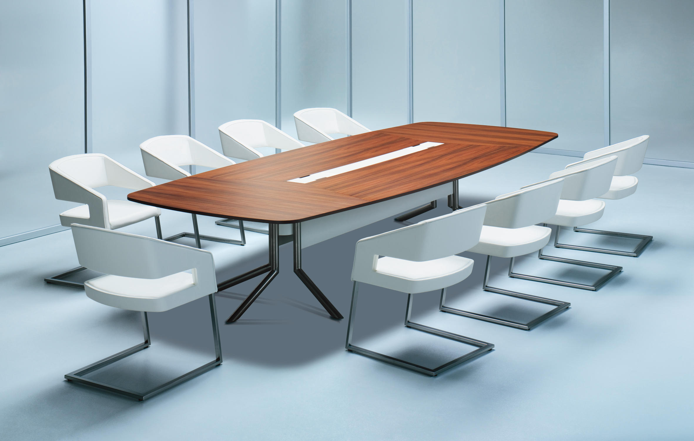 AUDIENCE CONFERENCE TABLE Contract Tables From Haworth Architonic - Multimedia conference table