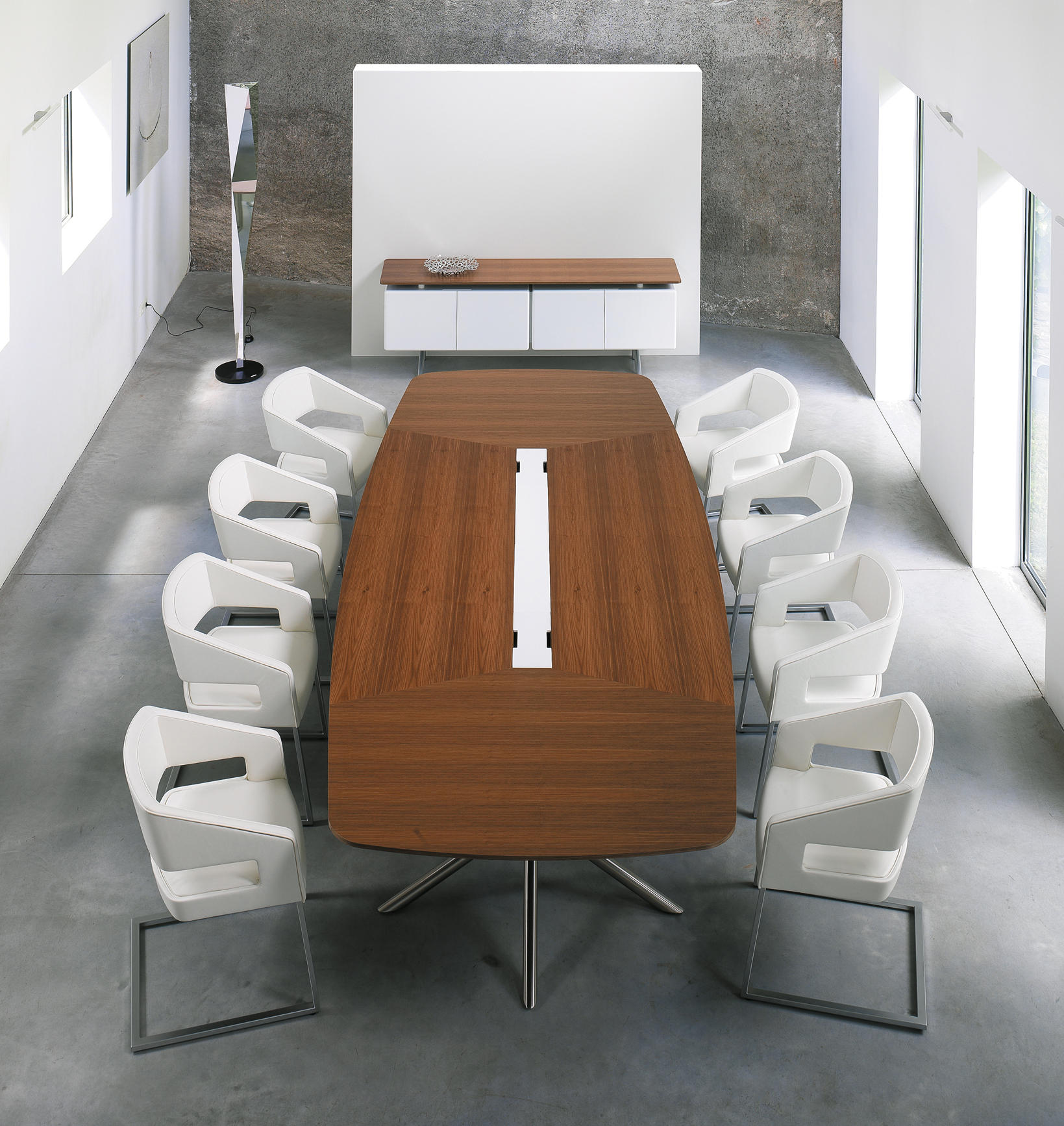 AUDIENCE CONFERENCE TABLE Multimedia conference tables from