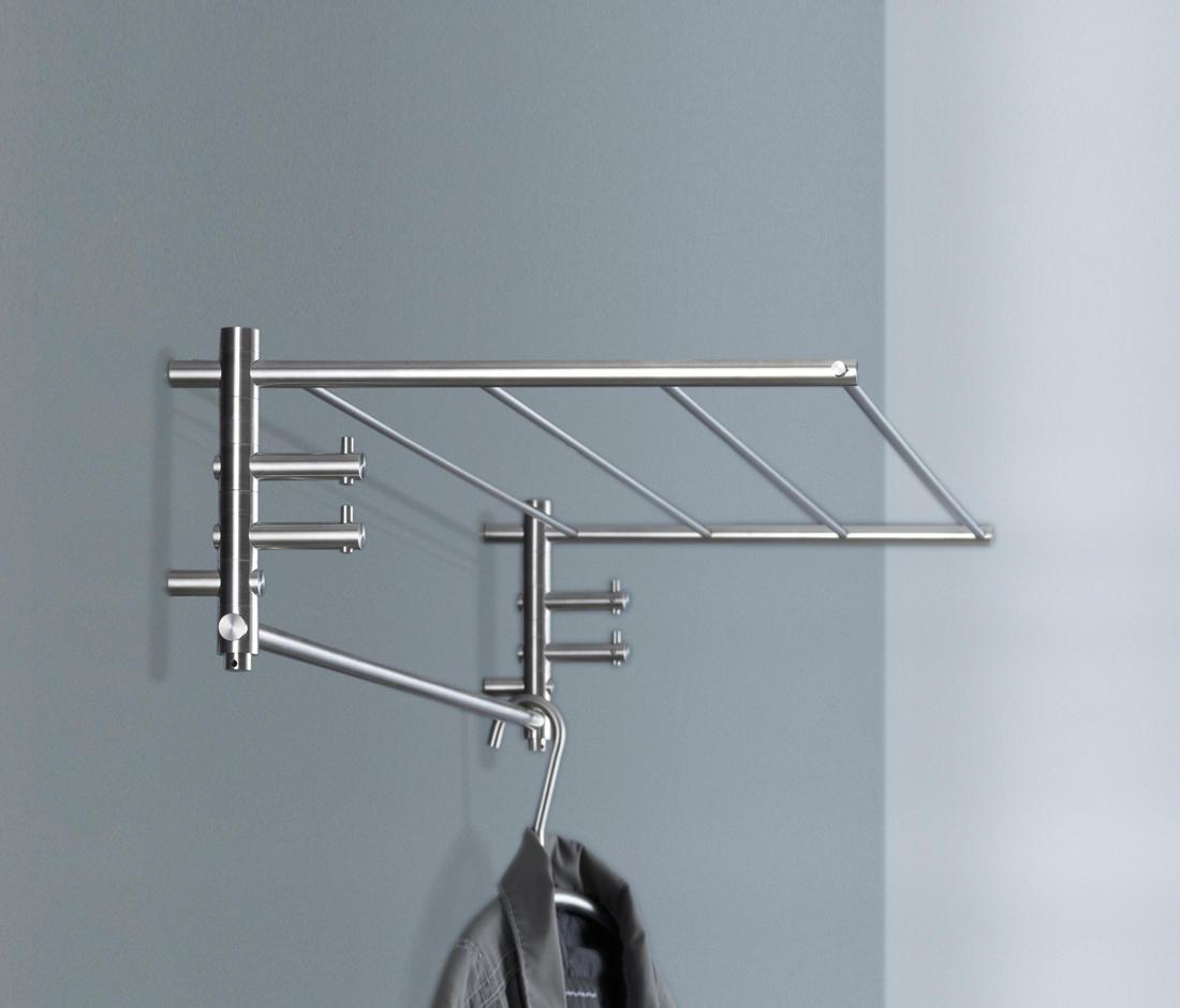 wandgarderobe g1 60 wandgarderoben von phos design architonic. Black Bedroom Furniture Sets. Home Design Ideas