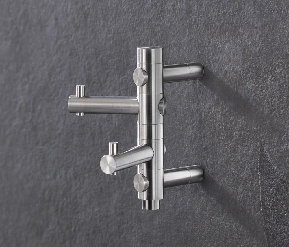 garderobenhaken gh 2 handtuchhaken von phos design architonic. Black Bedroom Furniture Sets. Home Design Ideas