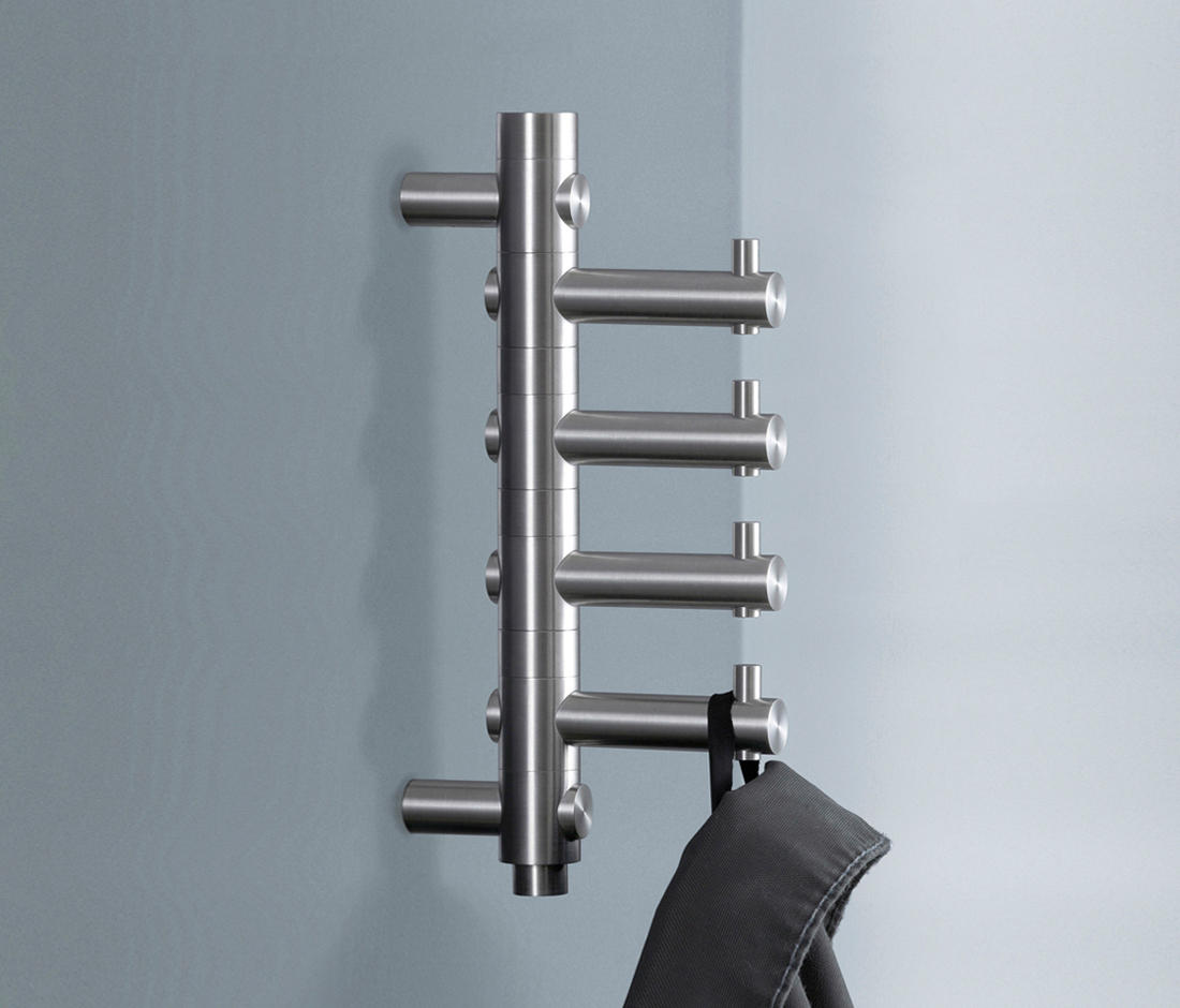garderobenhaken gh 4 towel hooks from phos design architonic. Black Bedroom Furniture Sets. Home Design Ideas