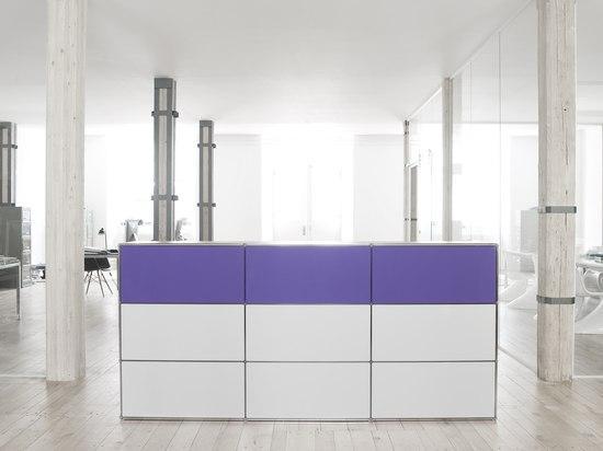 regal raumtrenner empfangstheke empfangstische von artmodul architonic. Black Bedroom Furniture Sets. Home Design Ideas