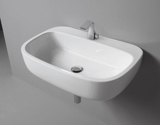 Mono 74 lavabo lavabi lavandini ceramica flaminia for Flaminia lavabi
