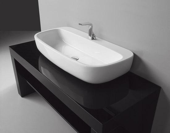 Mono 100 lavabo lavabi lavandini ceramica flaminia for Flaminia lavabi