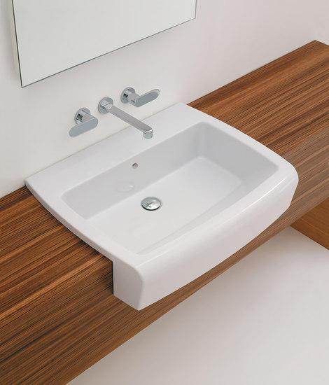 Una 75 lavabo lavabi lavandini ceramica flaminia for Flaminia lavabi
