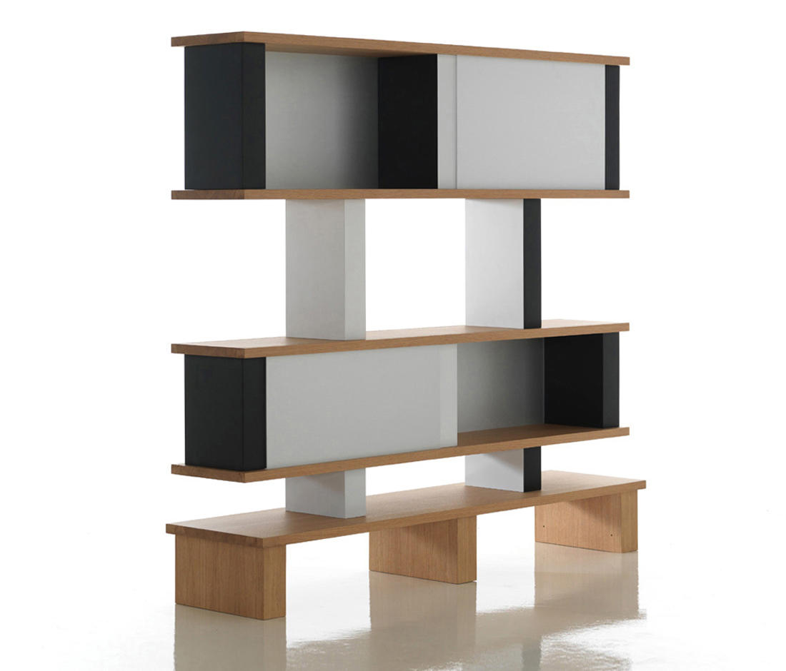 518 plurima shelving from cassina architonic. Black Bedroom Furniture Sets. Home Design Ideas