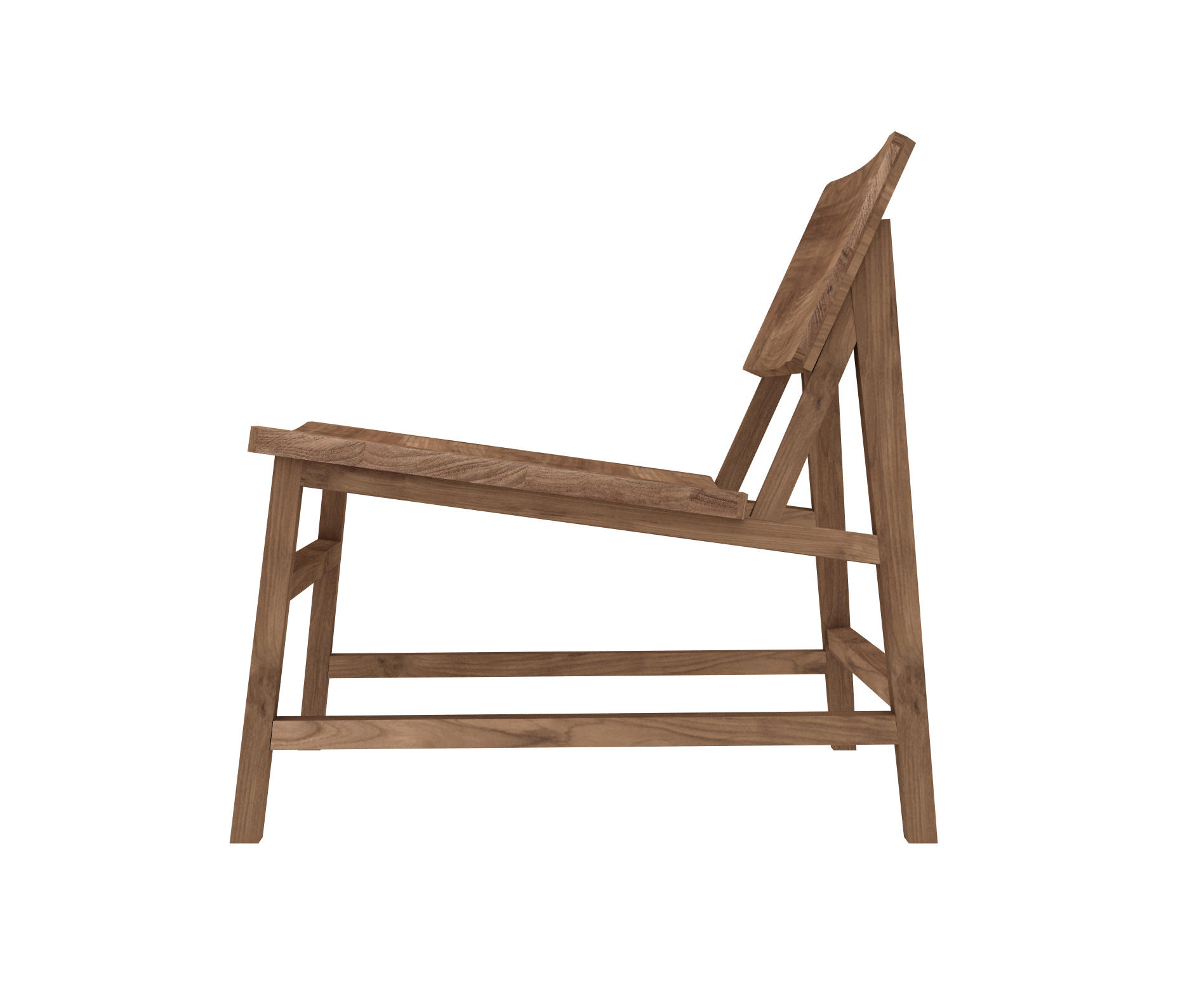 ... Teak N2 Lounge Chair By Ethnicraft | Lounge Chairs