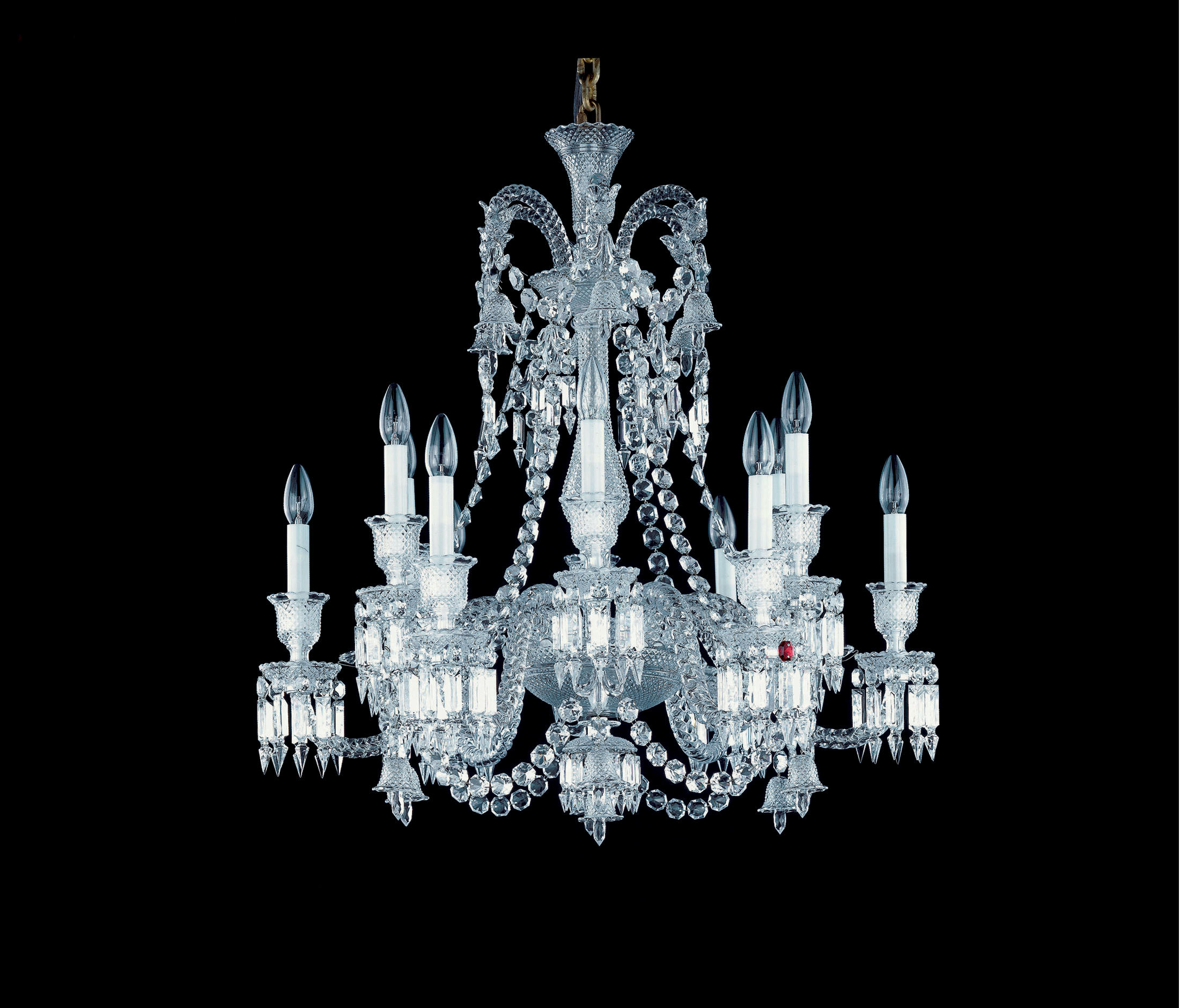 Zenith Ceiling Suspended Chandeliers From Baccarat