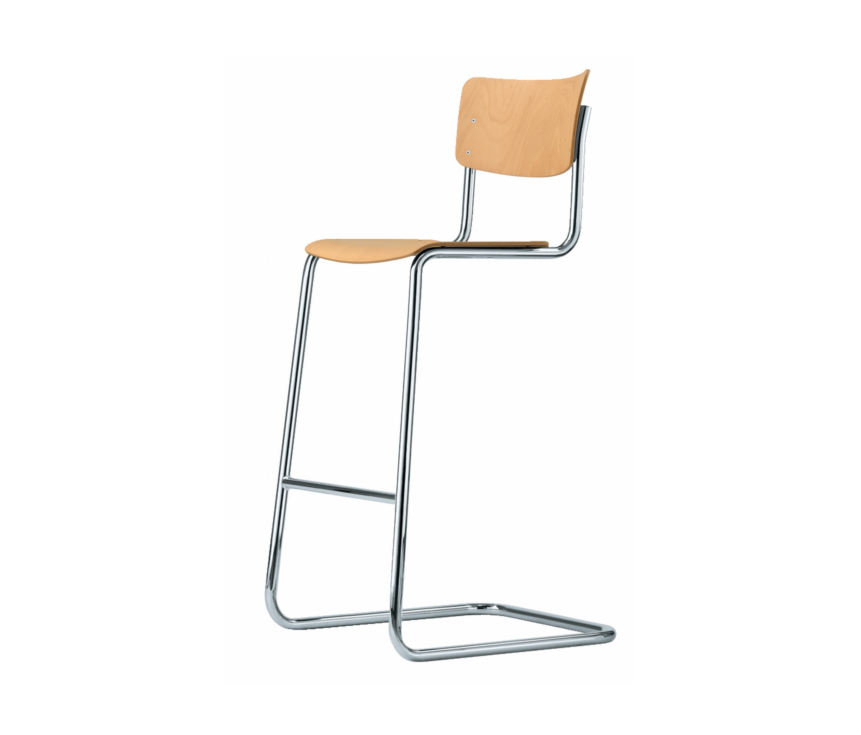 S 43 h barhocker von thonet architonic for Thonet barhocker