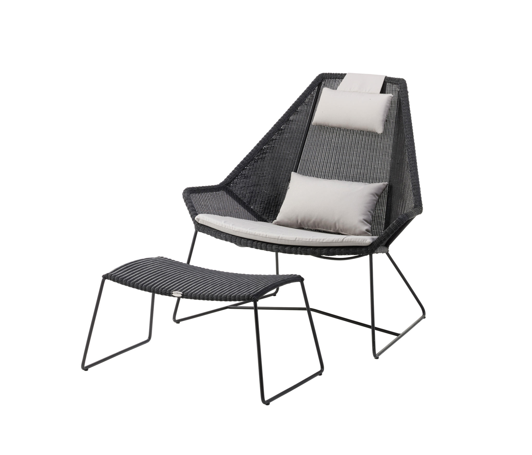 breeze highback chair garden armchairs from cane line architonic. Black Bedroom Furniture Sets. Home Design Ideas