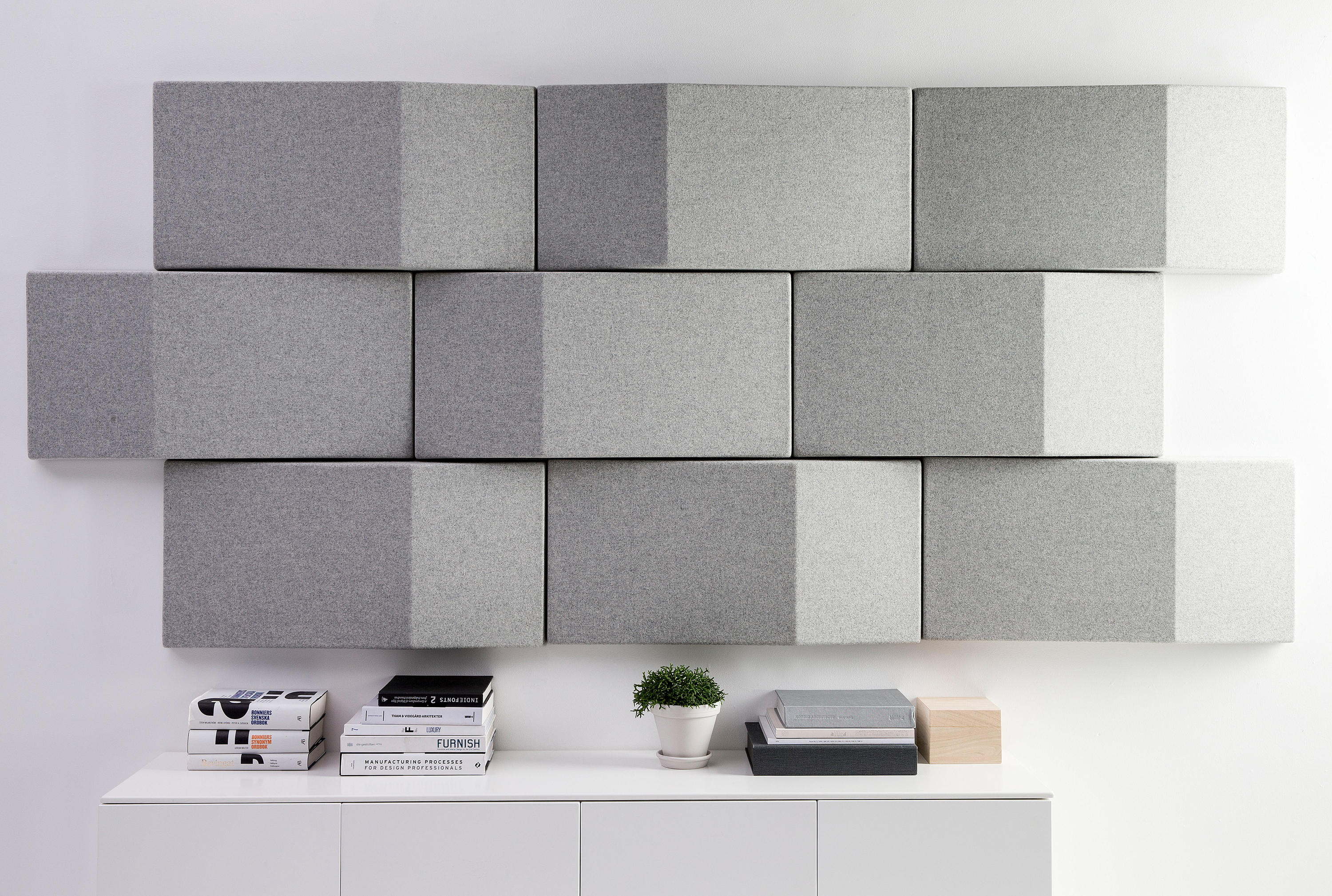 TRILINE ACOUSTICAL WALL PANEL - Wood panels from Abstracta | Architonic
