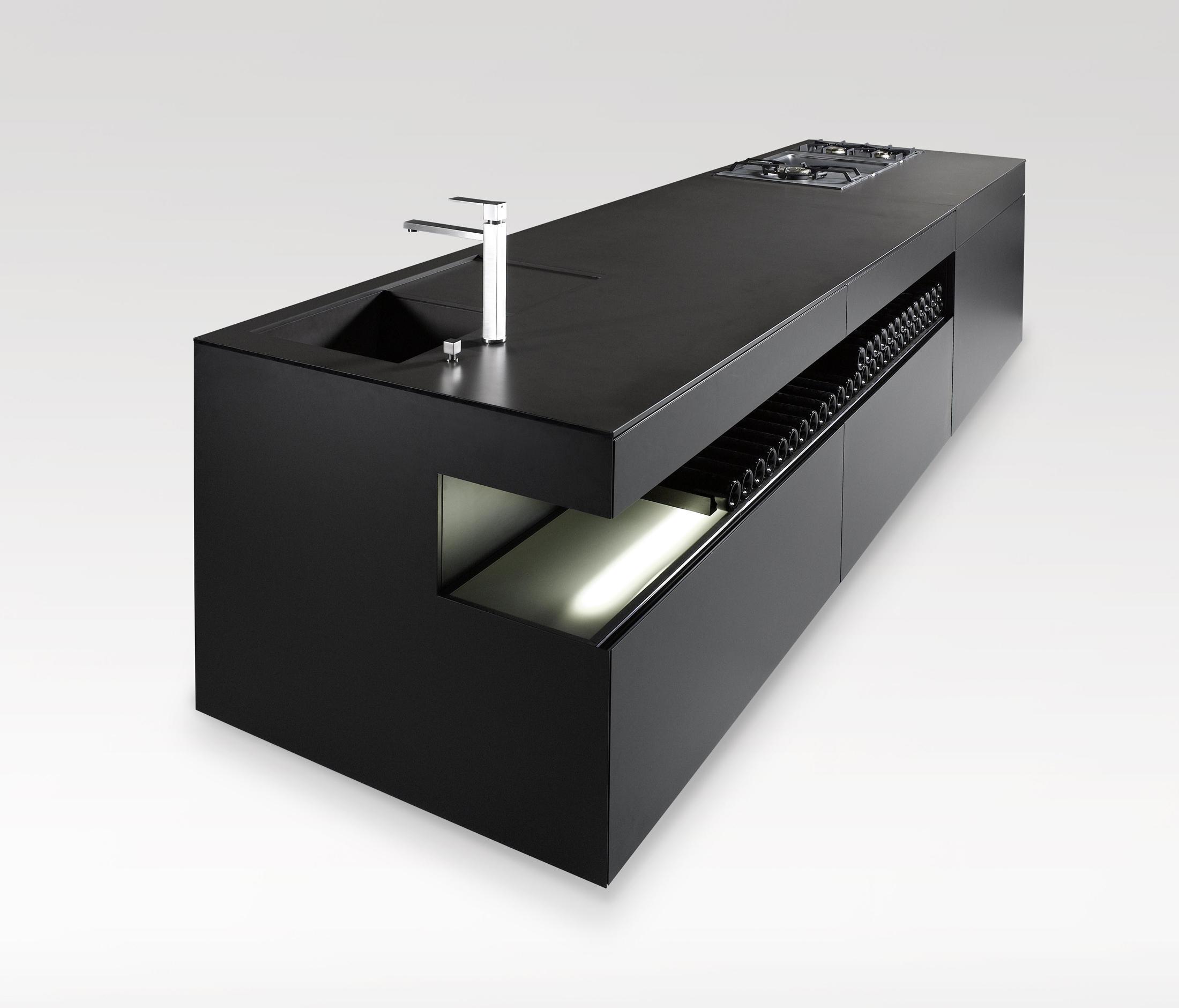 ALUKÜCHE08 - Kücheninseln von steininger.designers   Architonic
