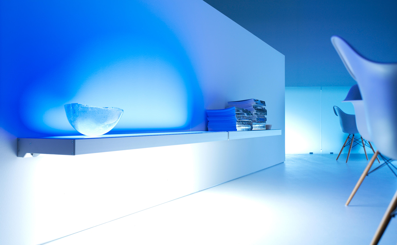 Lighting system 3 light board by gera shelving
