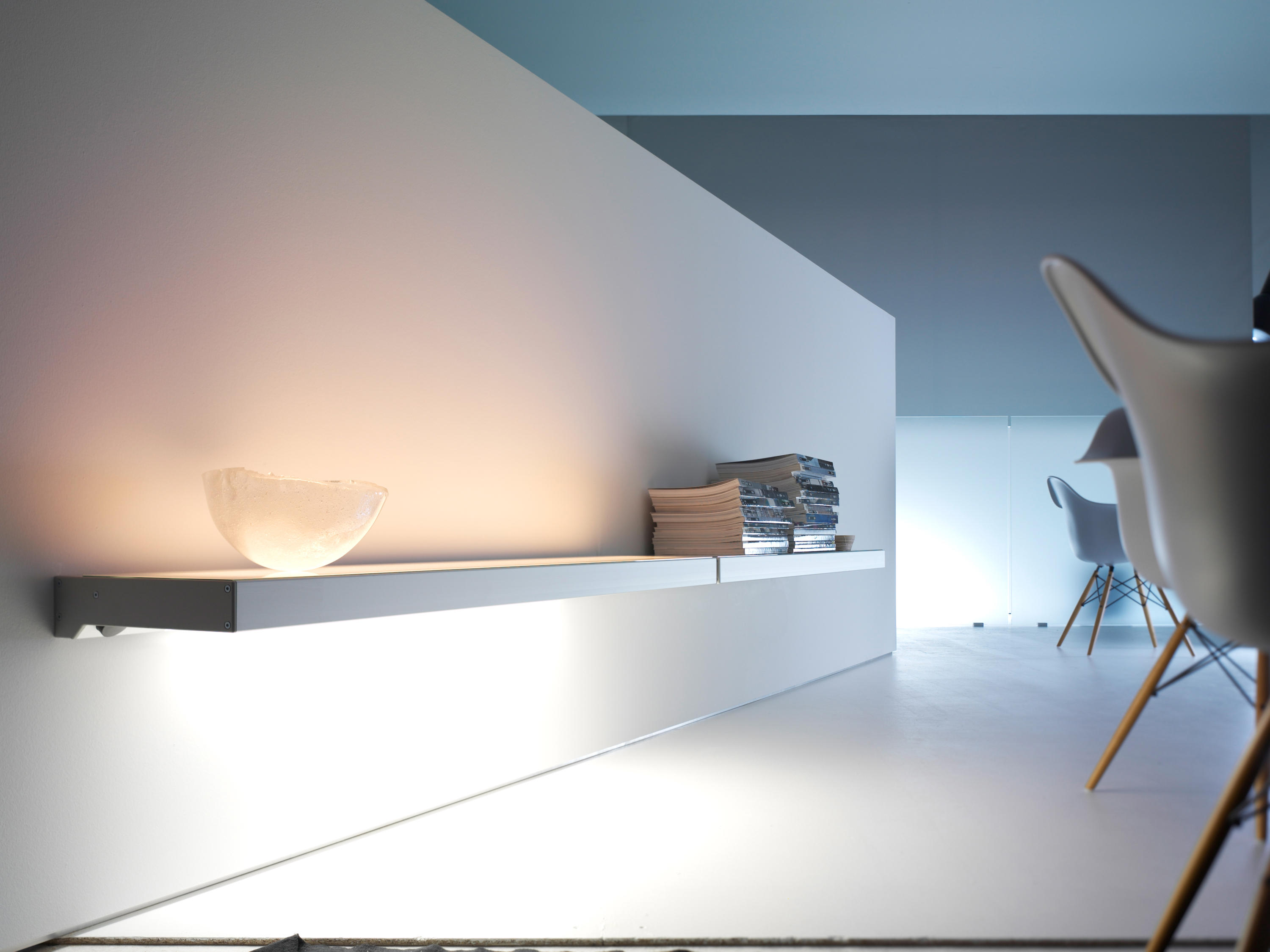 Lighting System 3 Light Board By GERA | Wall Shelves ...