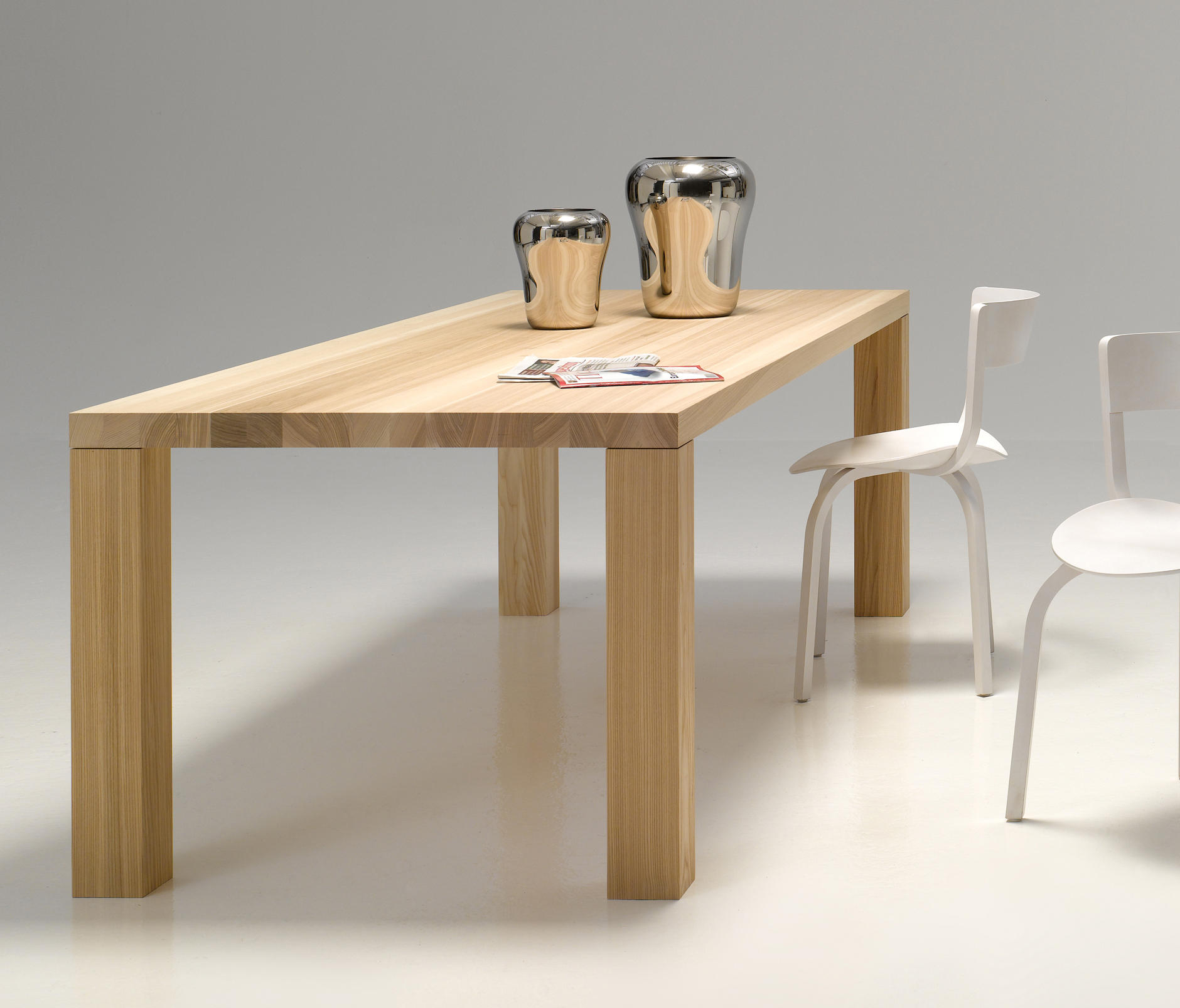 Solid Wood Table By Performa Dining Tables