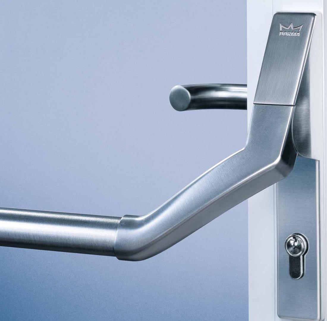 pha 2500 narrow stile door panic hardware from dormakaba. Black Bedroom Furniture Sets. Home Design Ideas