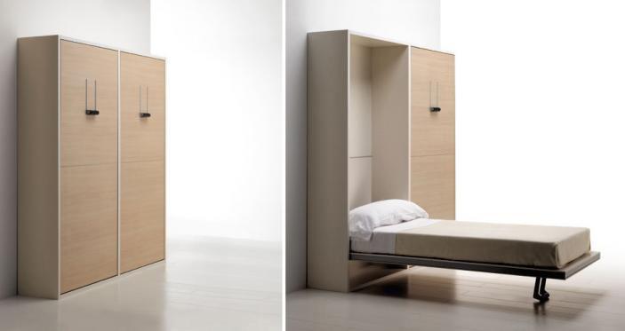 La literal camas gemelas camas de sellex architonic - Camas muebles plegables ...