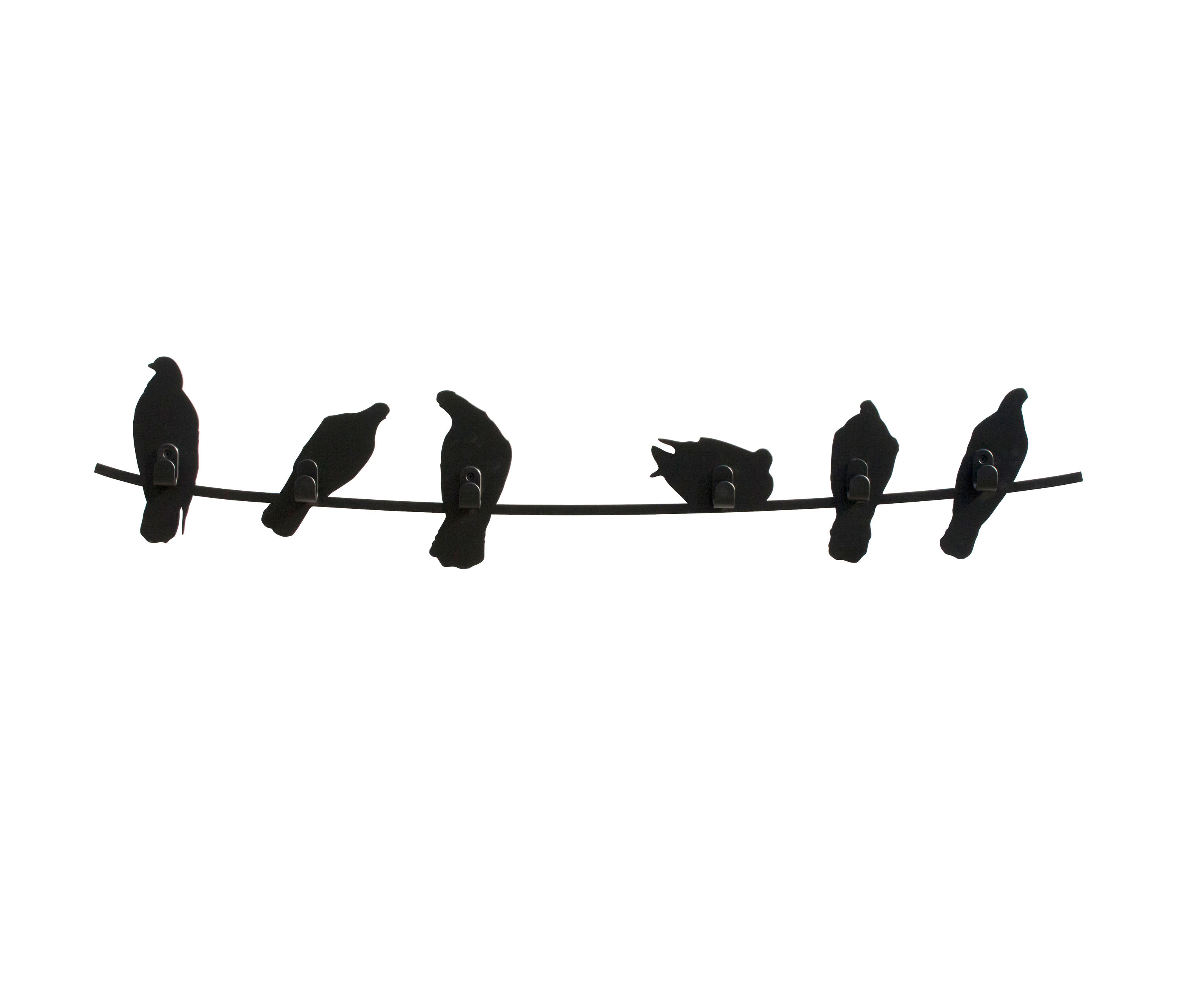 BIRDS ON WIRE - Hook rails from Covo   Architonic