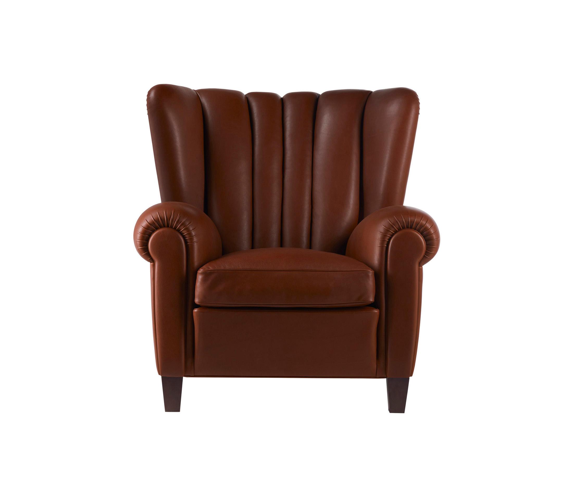 Leather sofa by poltrona frau at 1stdibs -  Savina By Poltrona Frau Lounge Chairs