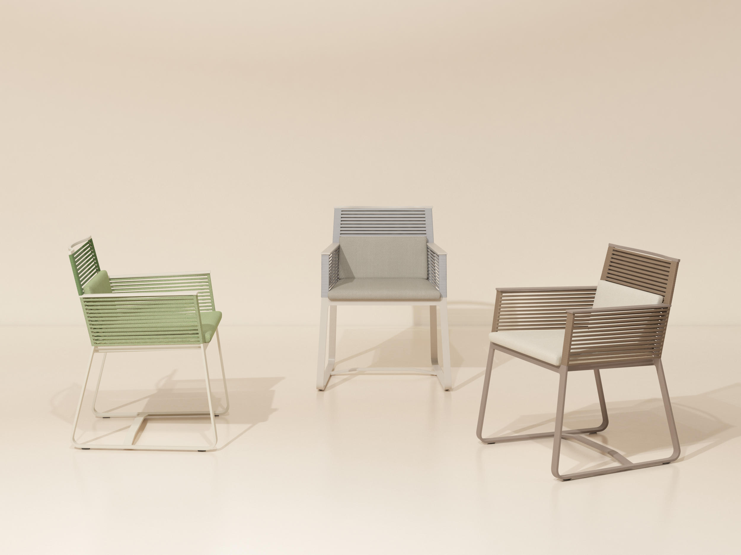 Landscape Dining Armchair By KETTAL | Chairs