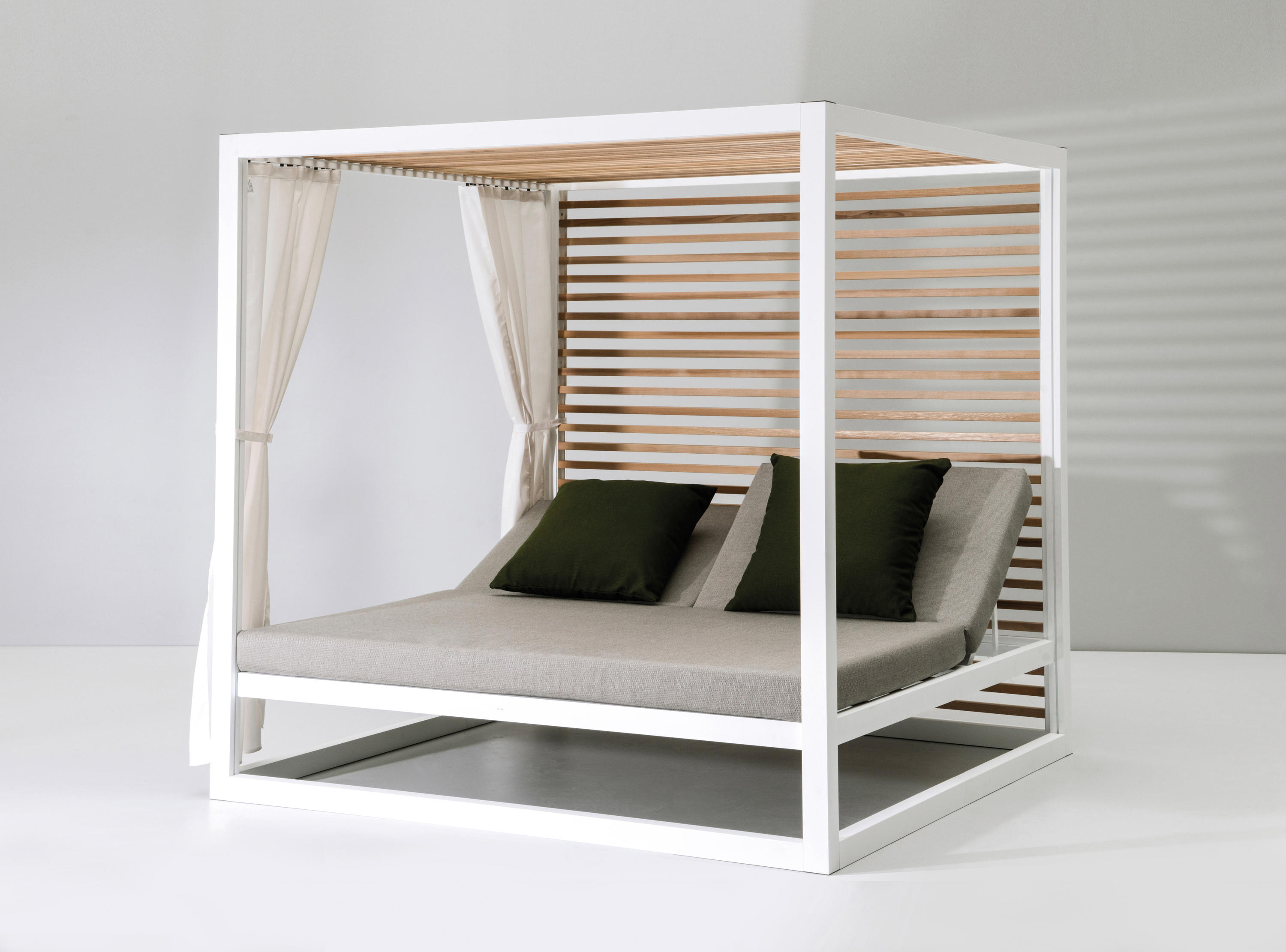 landscape daybed gazebo da giardino kettal architonic. Black Bedroom Furniture Sets. Home Design Ideas