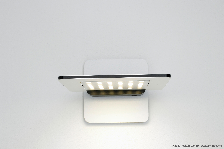 oneled-wall-luminaire-rotatable-07-b Wunderbar Wandleuchte Mit Leselampe Dekorationen