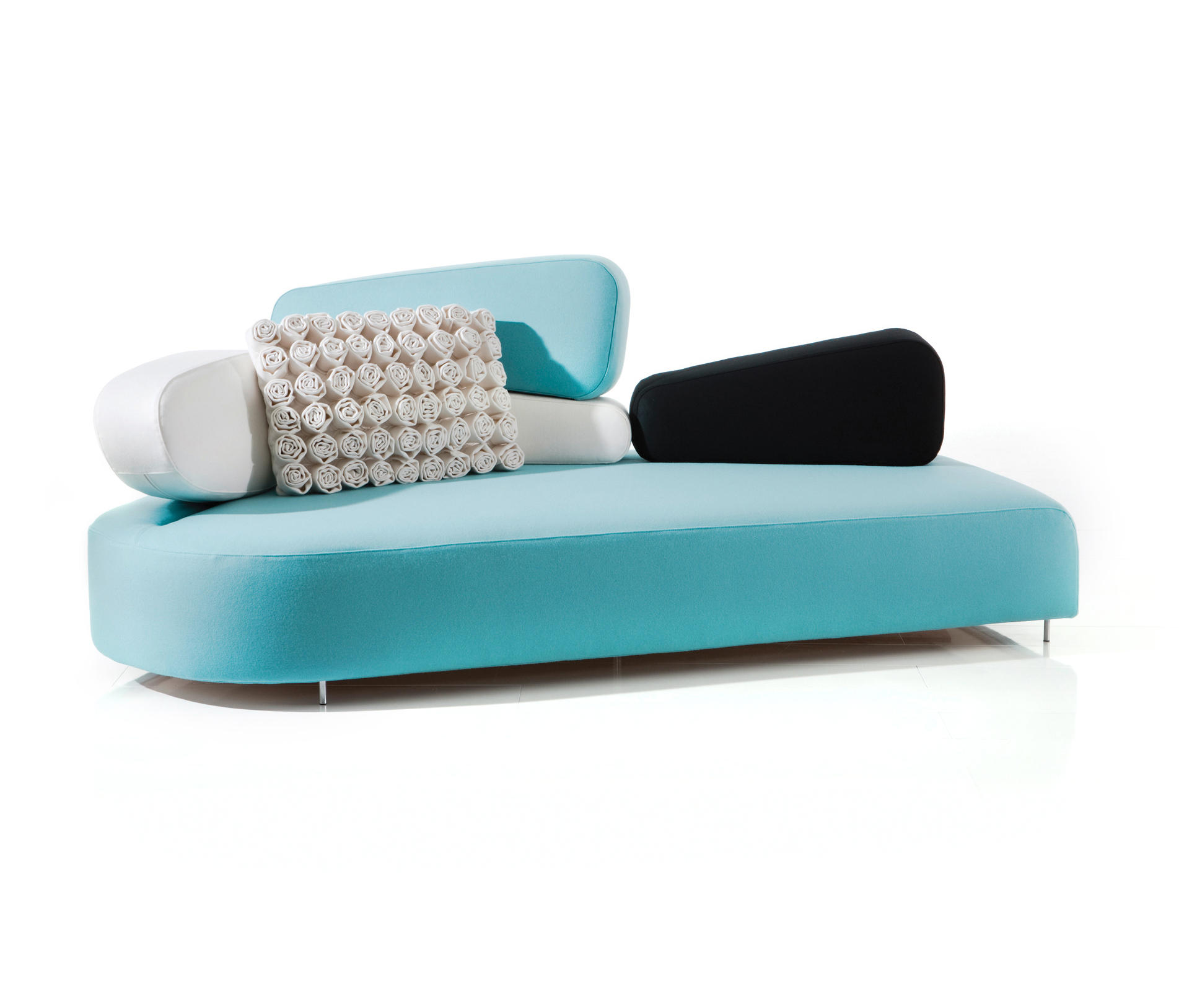 mosspink sofa left lounge sofas from br hl architonic. Black Bedroom Furniture Sets. Home Design Ideas