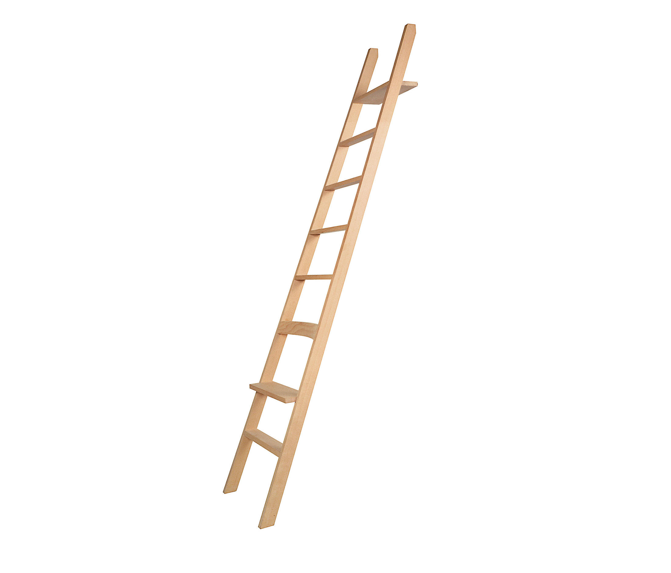 Hochacht library ladders from moormann architonic - Escalera de biblioteca ...