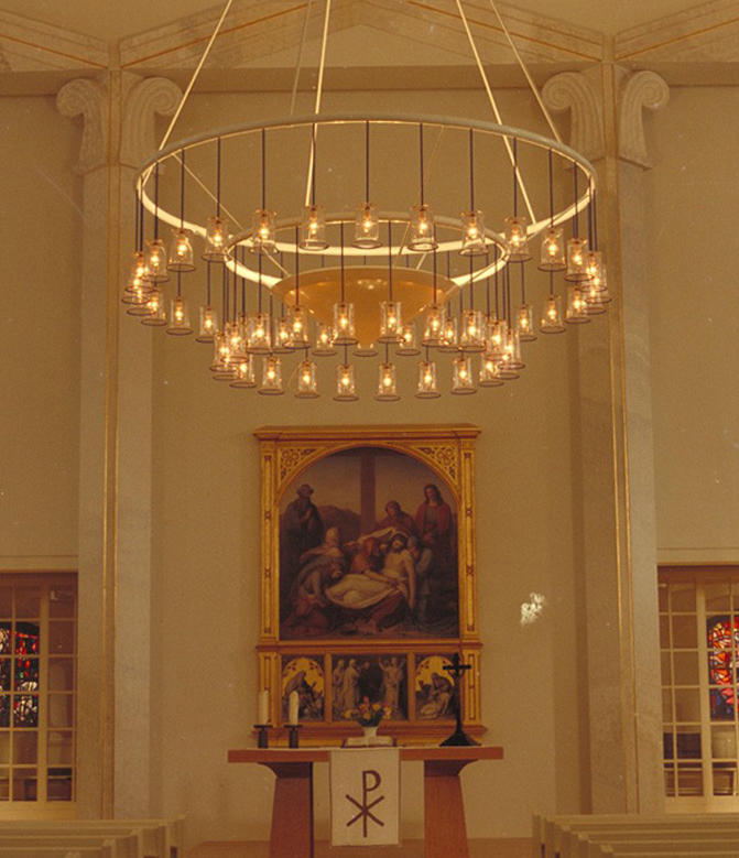 Louisen church chandelier chandeliers from okholm lighting louisen church chandelier by okholm lighting chandeliers aloadofball Images