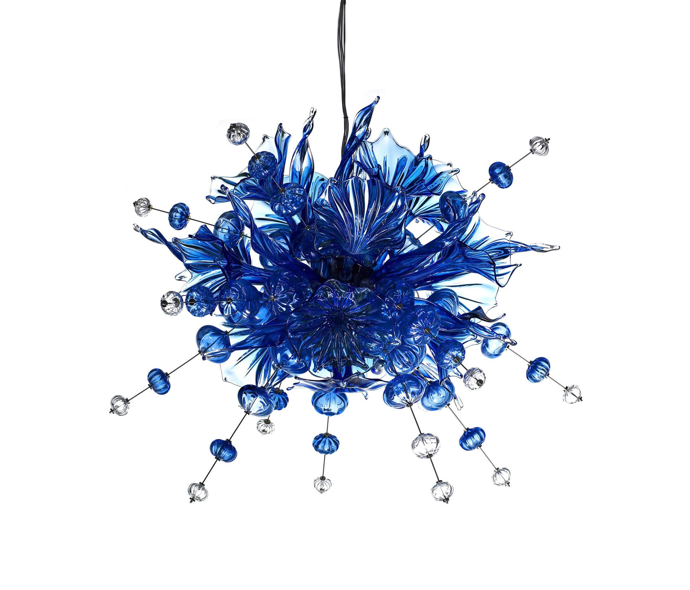 KUMULUS 120 CHANDELIER BLUE - General lighting from Bsweden ...