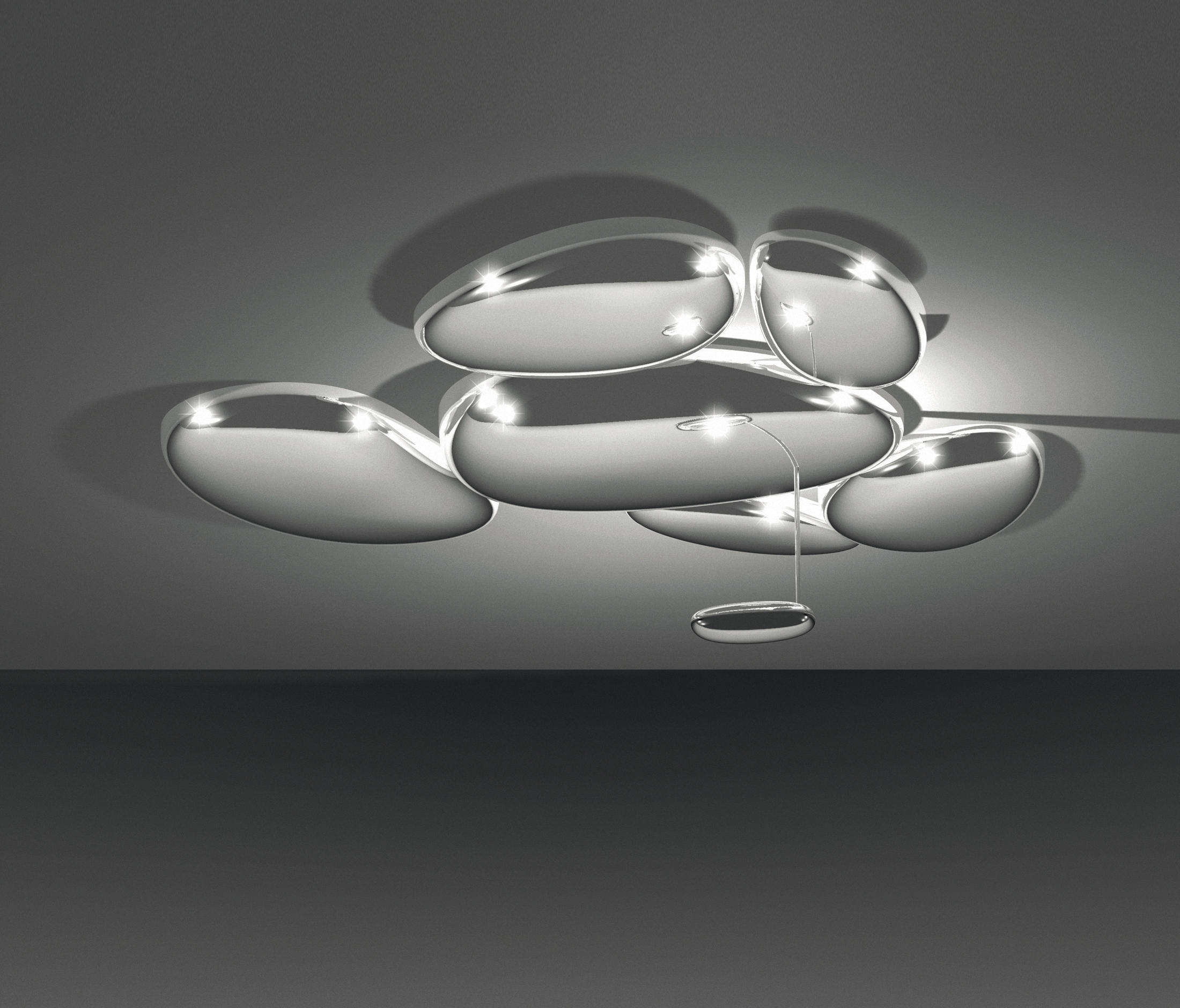 skydro ceiling lamp general lighting from artemide. Black Bedroom Furniture Sets. Home Design Ideas
