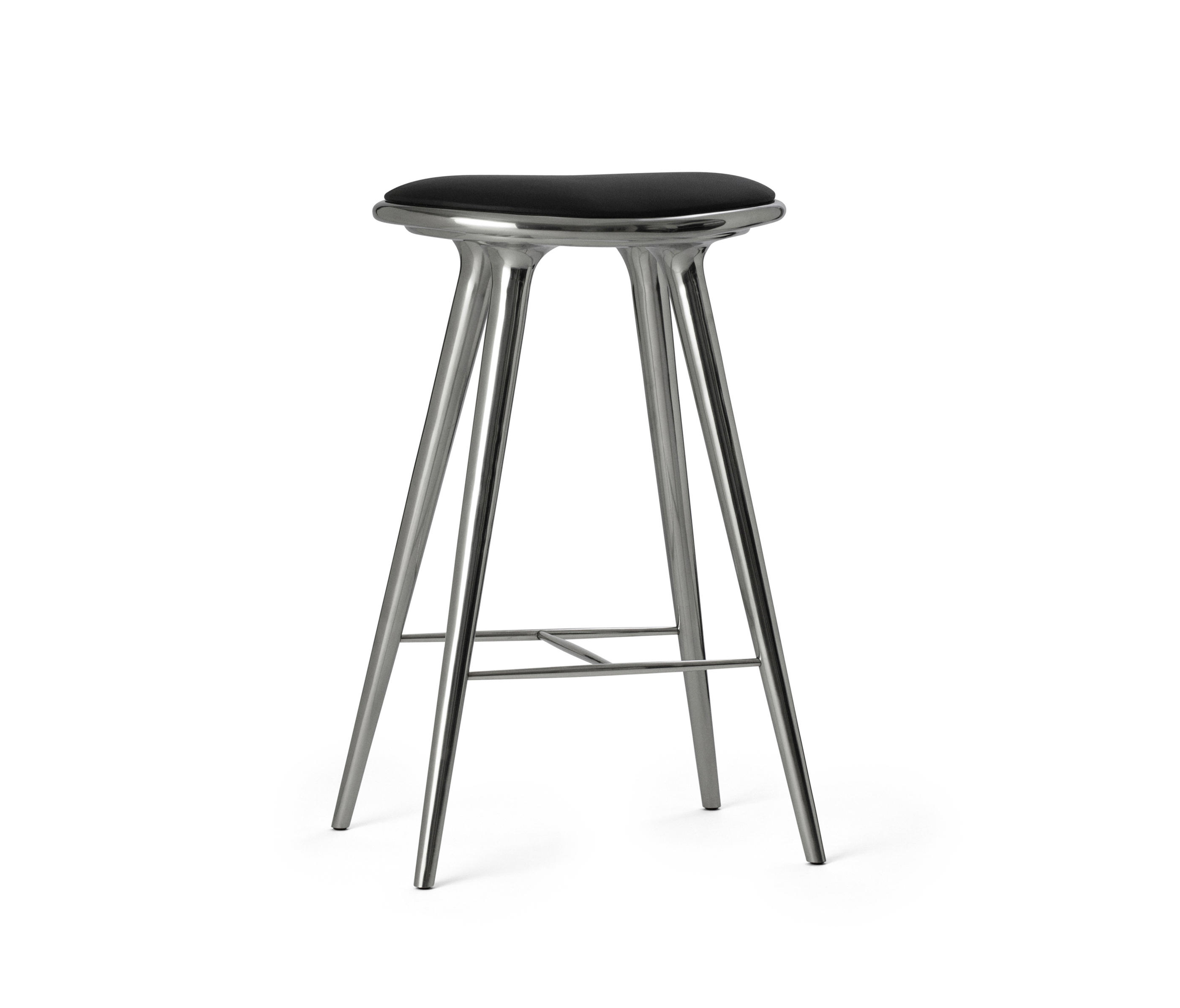 High Stool Recycled Aluminum 74 Bar Stools From Mater