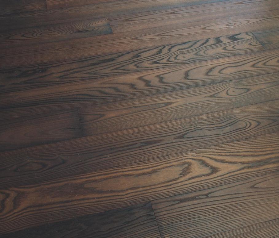 White Ash Wood Flooring ~ Ash vulcano dark brushed white oil wood flooring from