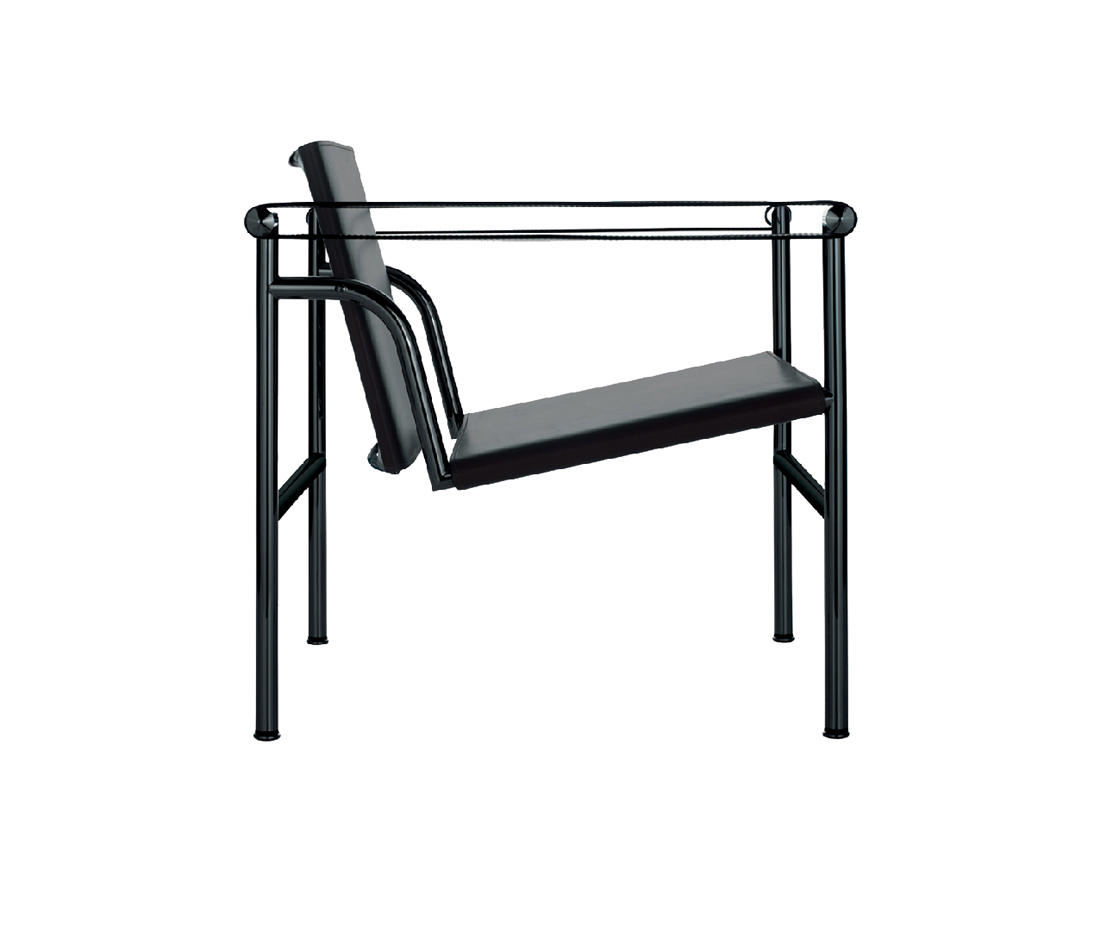 lc1 lounge chairs from cassina architonic. Black Bedroom Furniture Sets. Home Design Ideas
