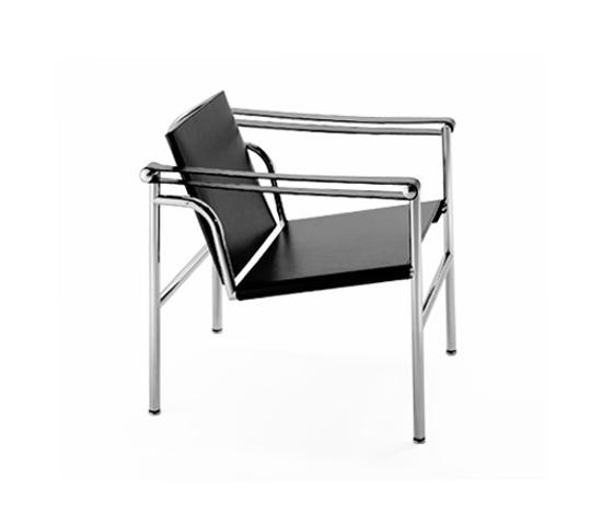 chaise lc1 le corbusier best vintage cassina lc uchaise longueu black version with chaise lc1. Black Bedroom Furniture Sets. Home Design Ideas